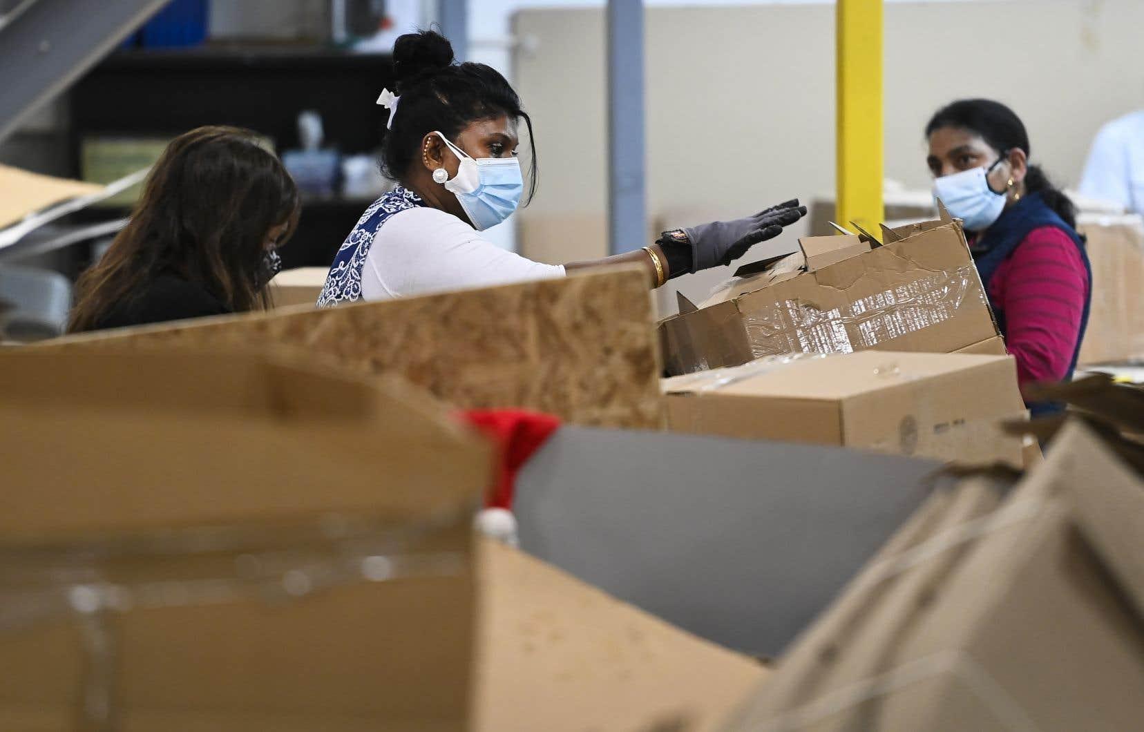 Le secteur de la fabrication des biens non durables est particulièrement concerné.