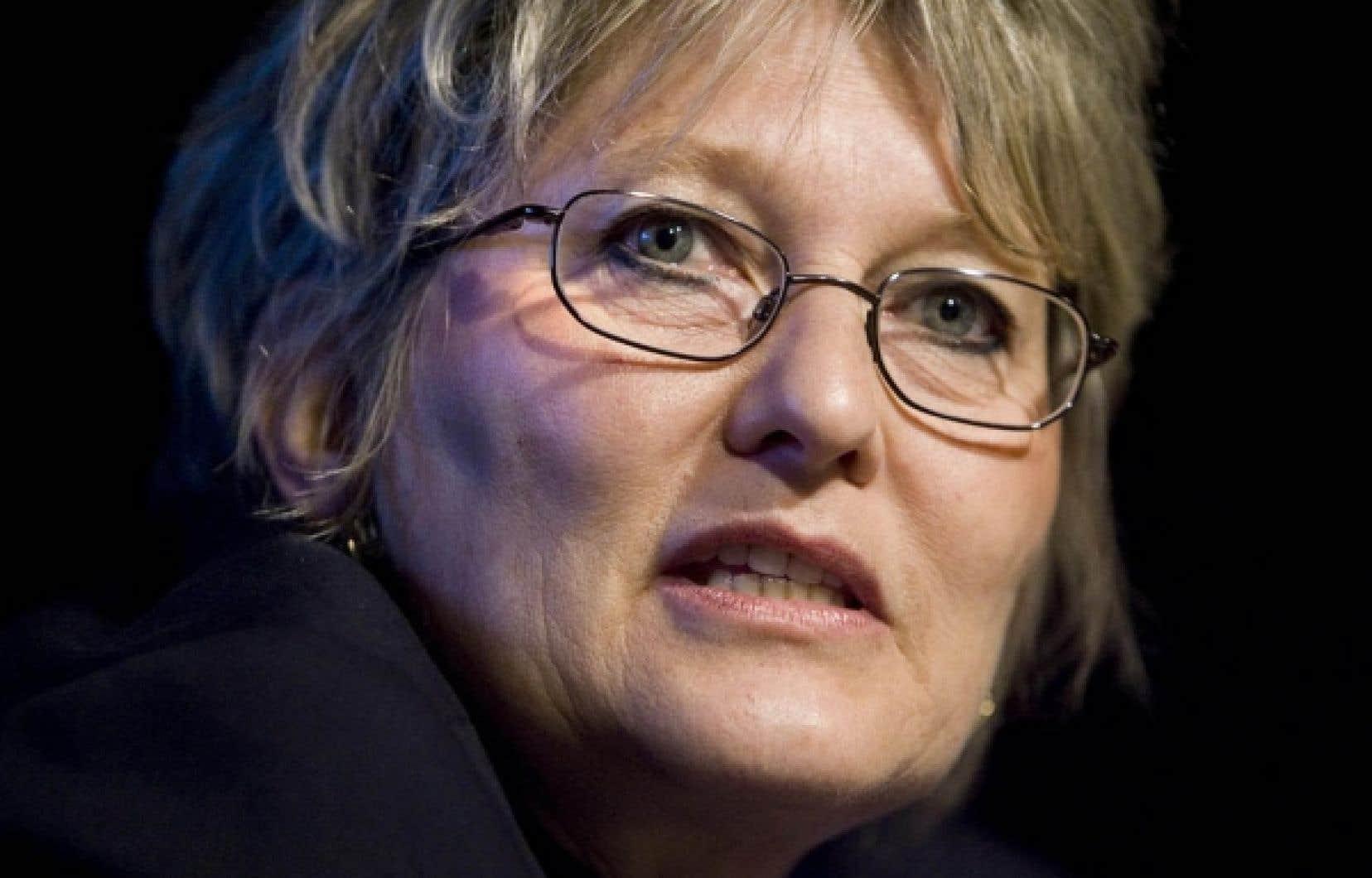 Louise Vandelac, directrice de l'Institut des sciences de l'environnement<br />