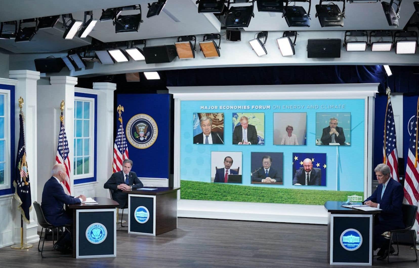 Joe Bidena annoncé un nouvel engagement américano-européen pour réduire les fuites de méthane néfastes pour le climat.