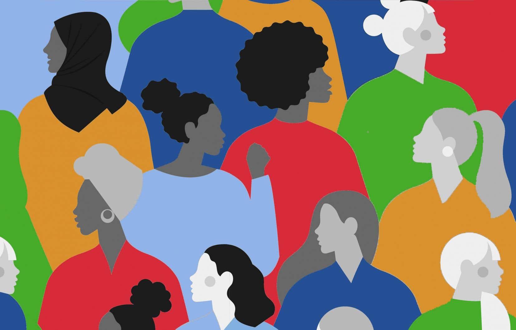 «Alors que l'approche des femmes leaders, notamment en Belgique et en Nouvelle-Zélande, a été encensée lors de la pandémie, il est pertinent de souligner le silence devant la représentation féminine et diversifiée lors de cette élection», écrit l'autrice.