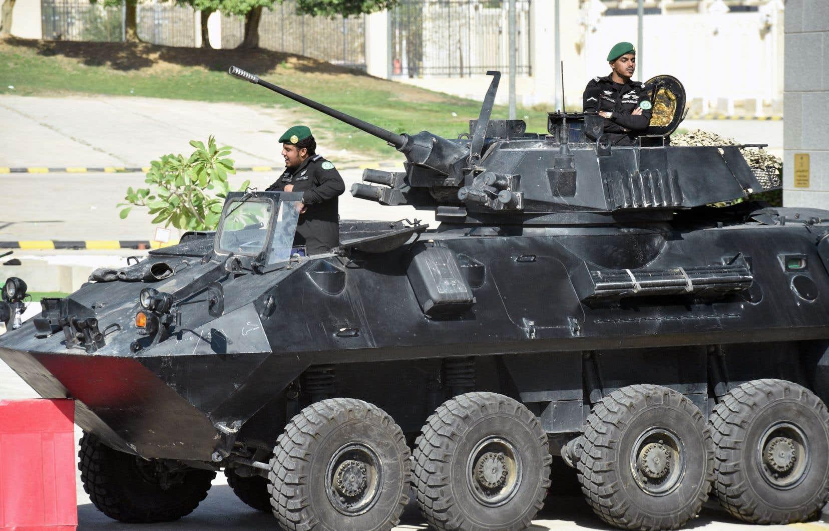 La majeure partie des exportations d'armes canadiennes vers l'Arabie saoudite consiste en des véhicules blindés légers fabriqués par General Dynamics Land Systems-Canada, rapportent les auteurs.