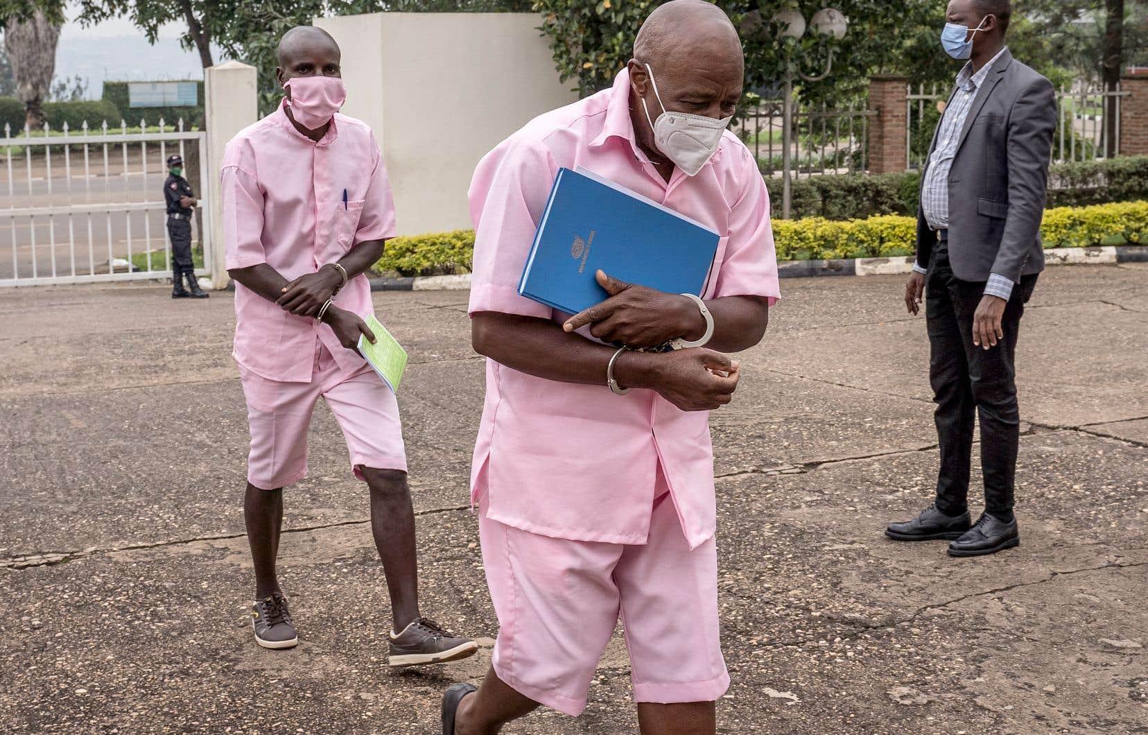 Paul Rusesabagina, en février dernier. Ni Rusesabagina ni ses avocats n'étaient présents à la lecture du verdict lundi.