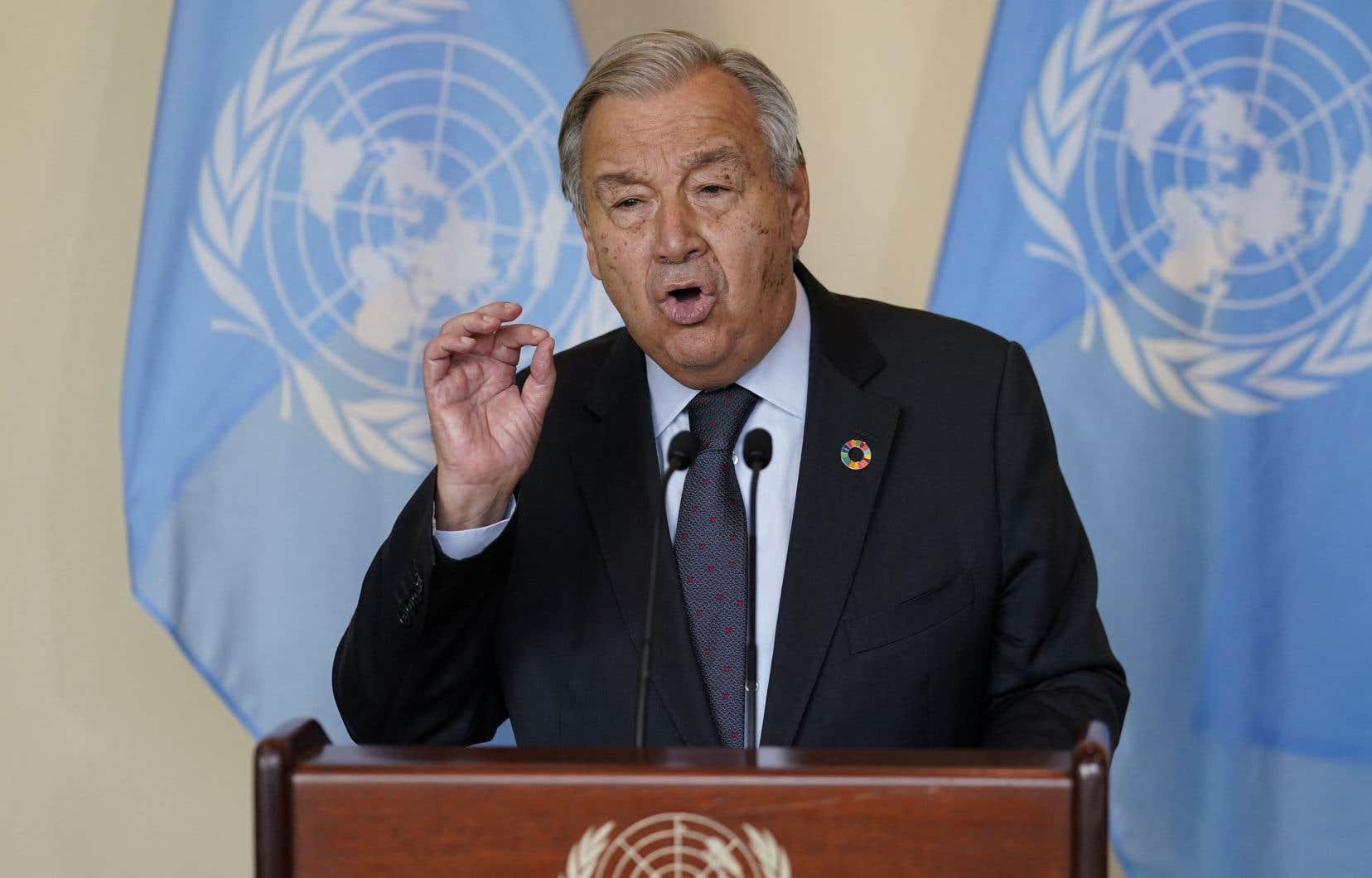 «Nous devons mettre fin à la guerre menée contre notre planète», a affirmé le secrétaire général des Nations unies, António Guterres.