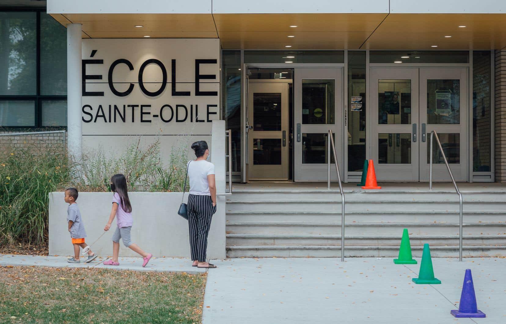 L'école Sainte-Odile et son annexe sont fermées depuis mardi et le demeureront jusqu'à vendredi.