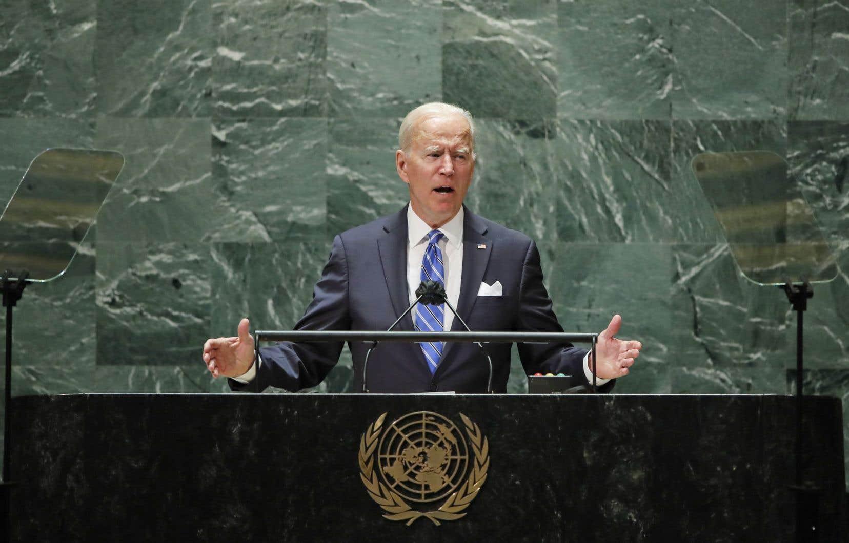 Haro de Biden sur les régimes autoritaires