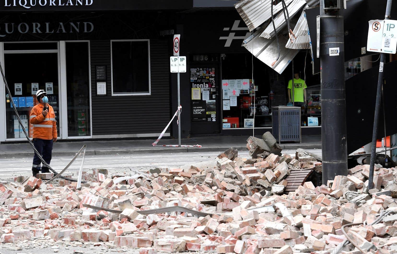 Le séisme n'at toutefoispas fait de victimes ou de dégâts importants.