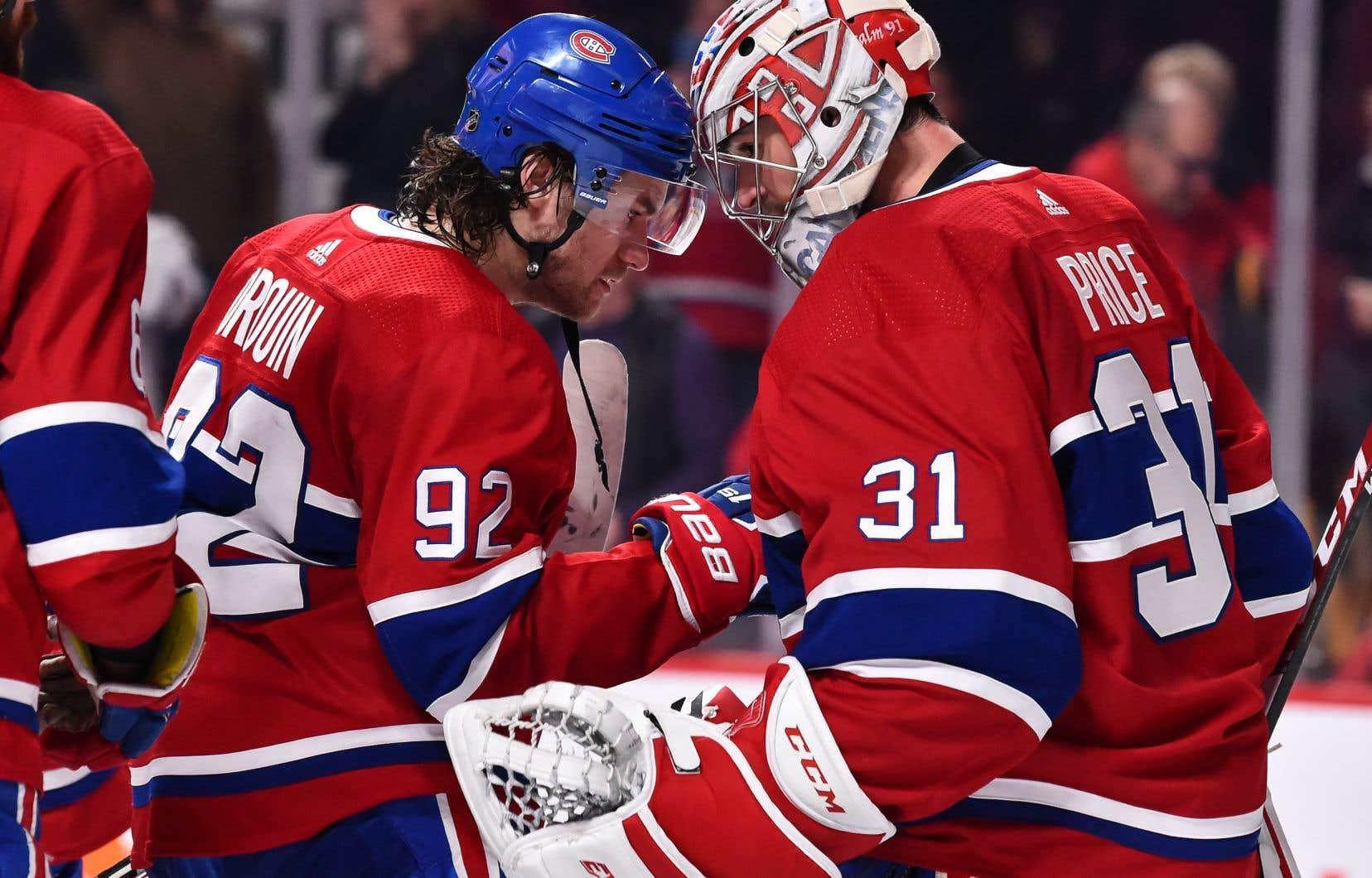 Le Canadien de Montréal pourra compter sur l'attaquant Jonathan Drouin et le gardien Cary Price pour amorcer la saison.