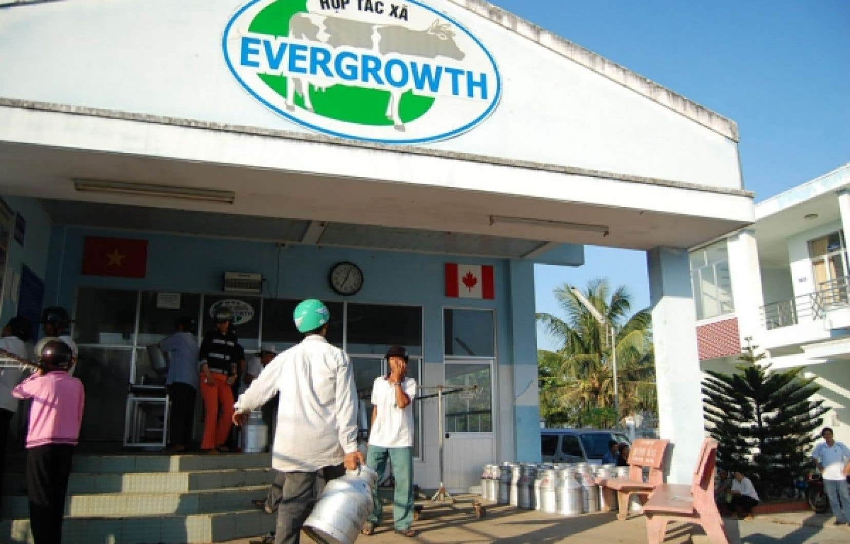Une coopérative laitière au Vietnam<br />