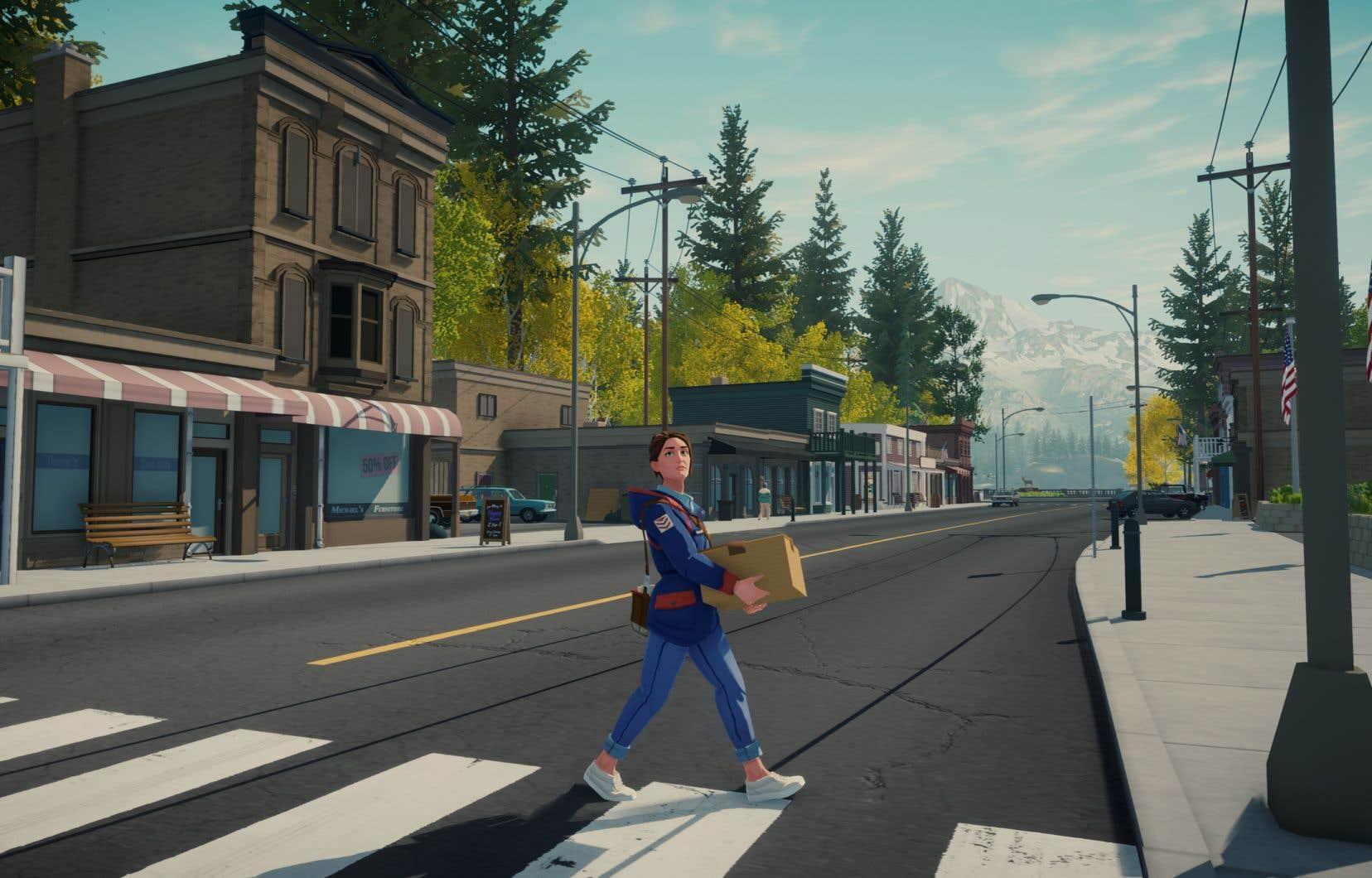 «Lake» est un jeu relaxant pour les personnes qui veulent s'éloigner du chaos de la vie urbaine.