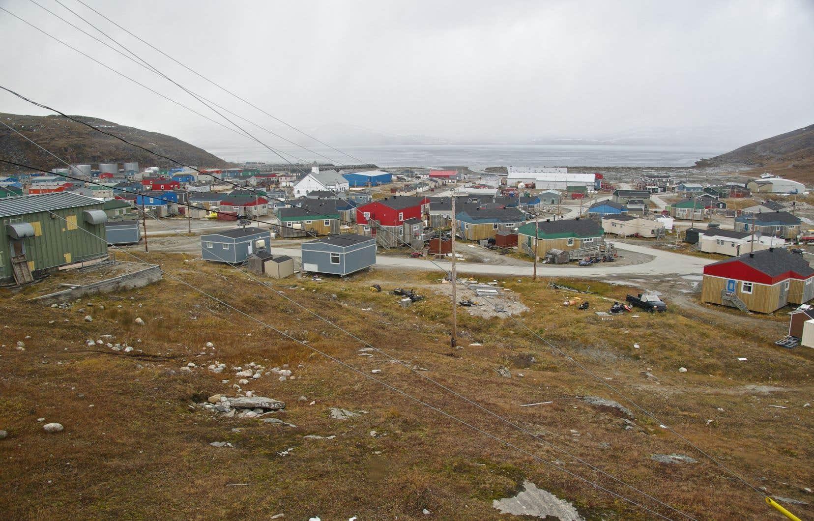 Les événements se sont déroulés à Salluit, dans le nord du Québec, le soir du 7mai 2019.