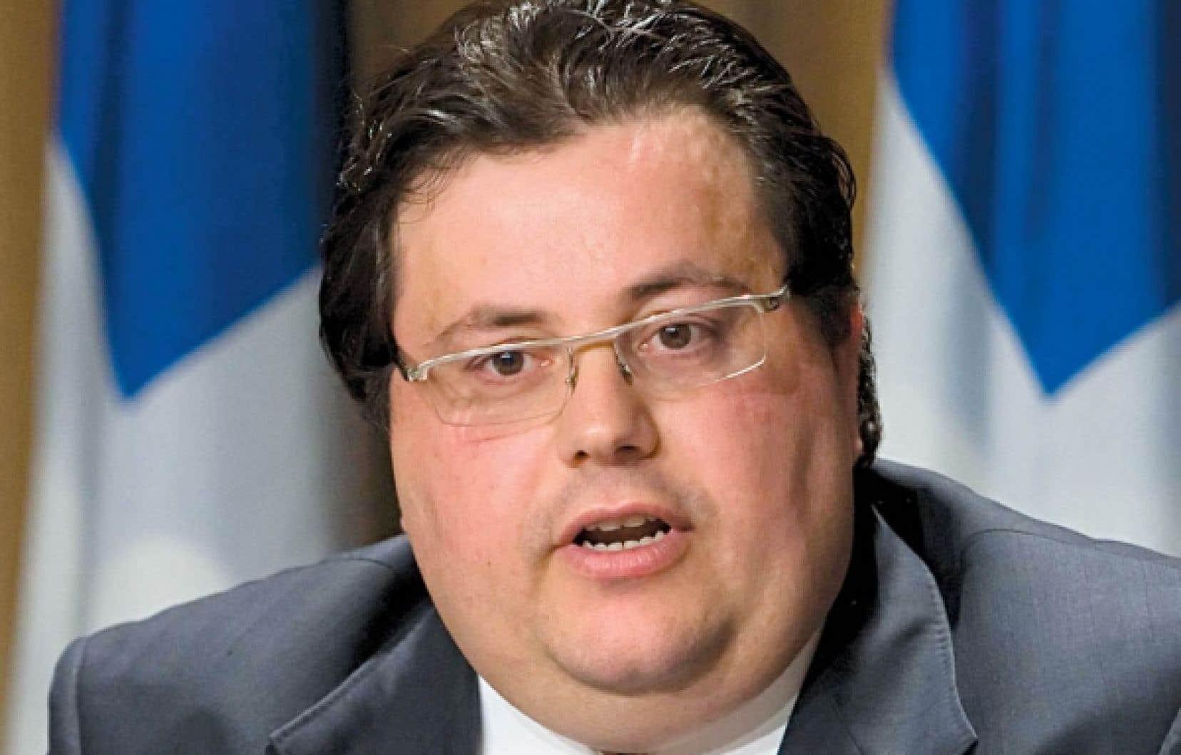 Le député indépendant de LaFontaine et ancien ministre libéral de la Famille, Tony Tomassi