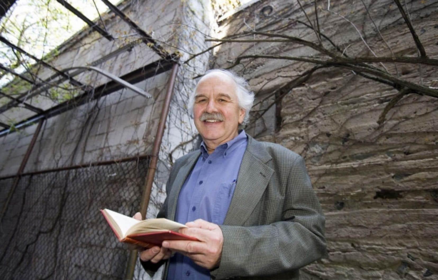 Le philosophe Georges Leroux est finaliste au Prix du Gouverneur général dans la catégorie essais.