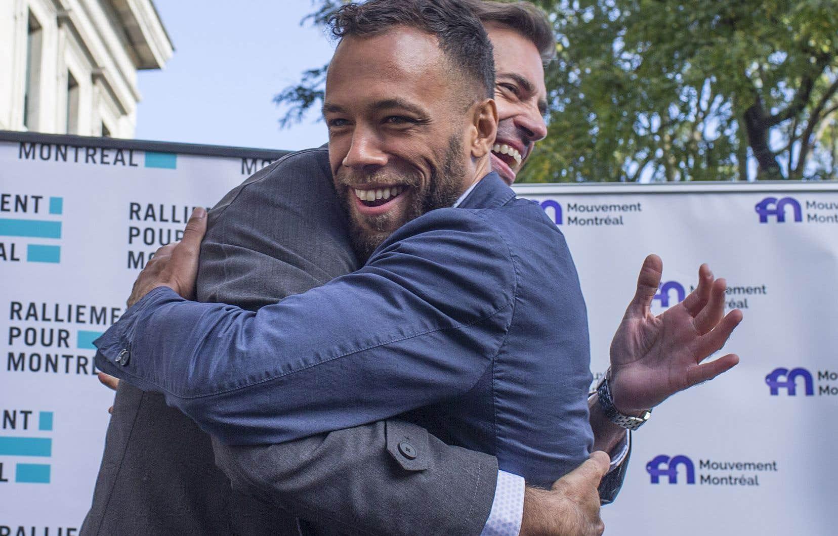 Les deux partis de BalaramaHolness et de Marc-Antoine Desjardins s'uniront sous la bannière de Mouvement Montréal.