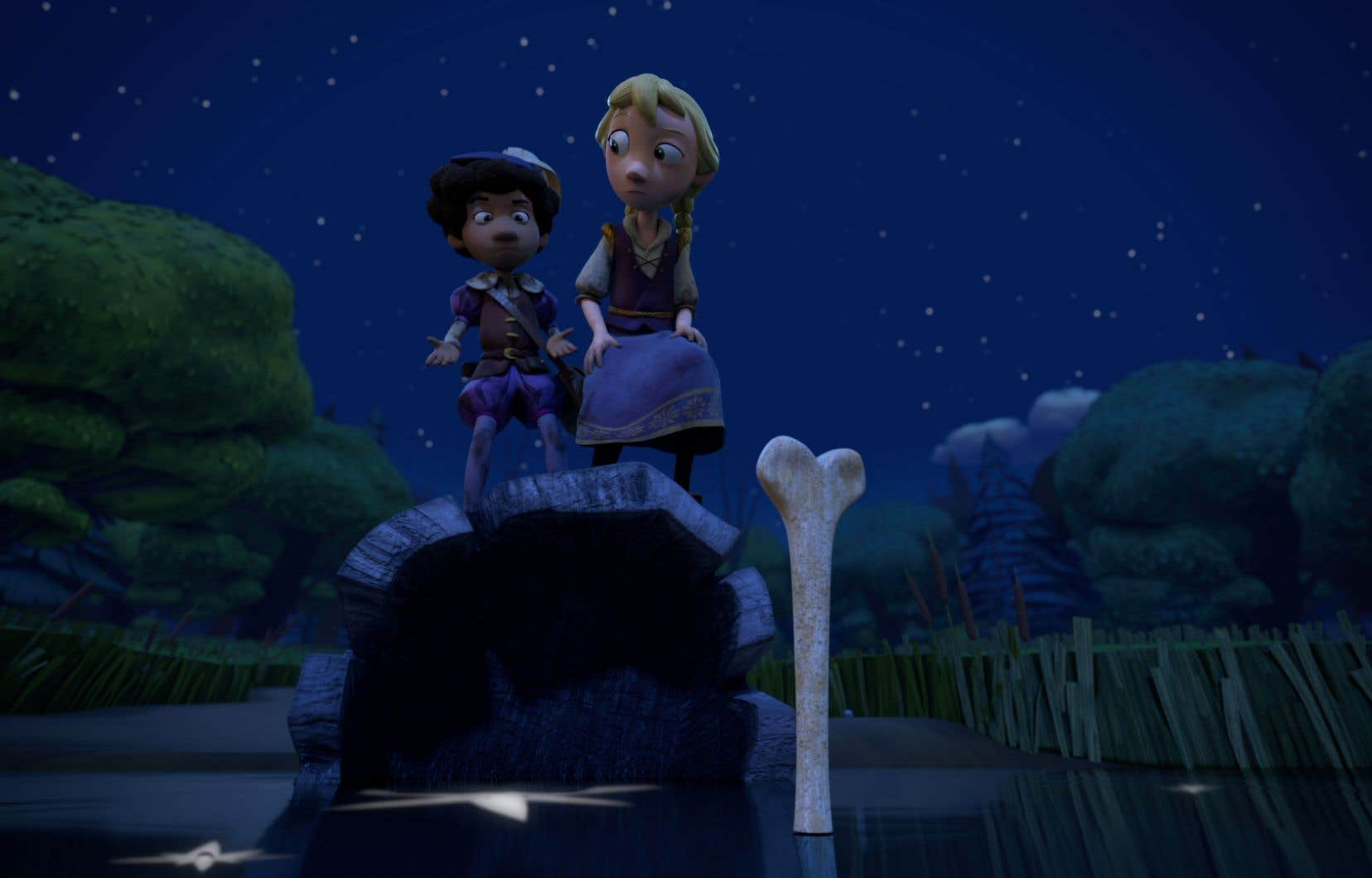 Netflix propose une adaptation animée d'un roman graphique d'Adam Gidwitz ne propose rien de moins que la «vraie-fausse» histoire d'Hansel et Gretel.