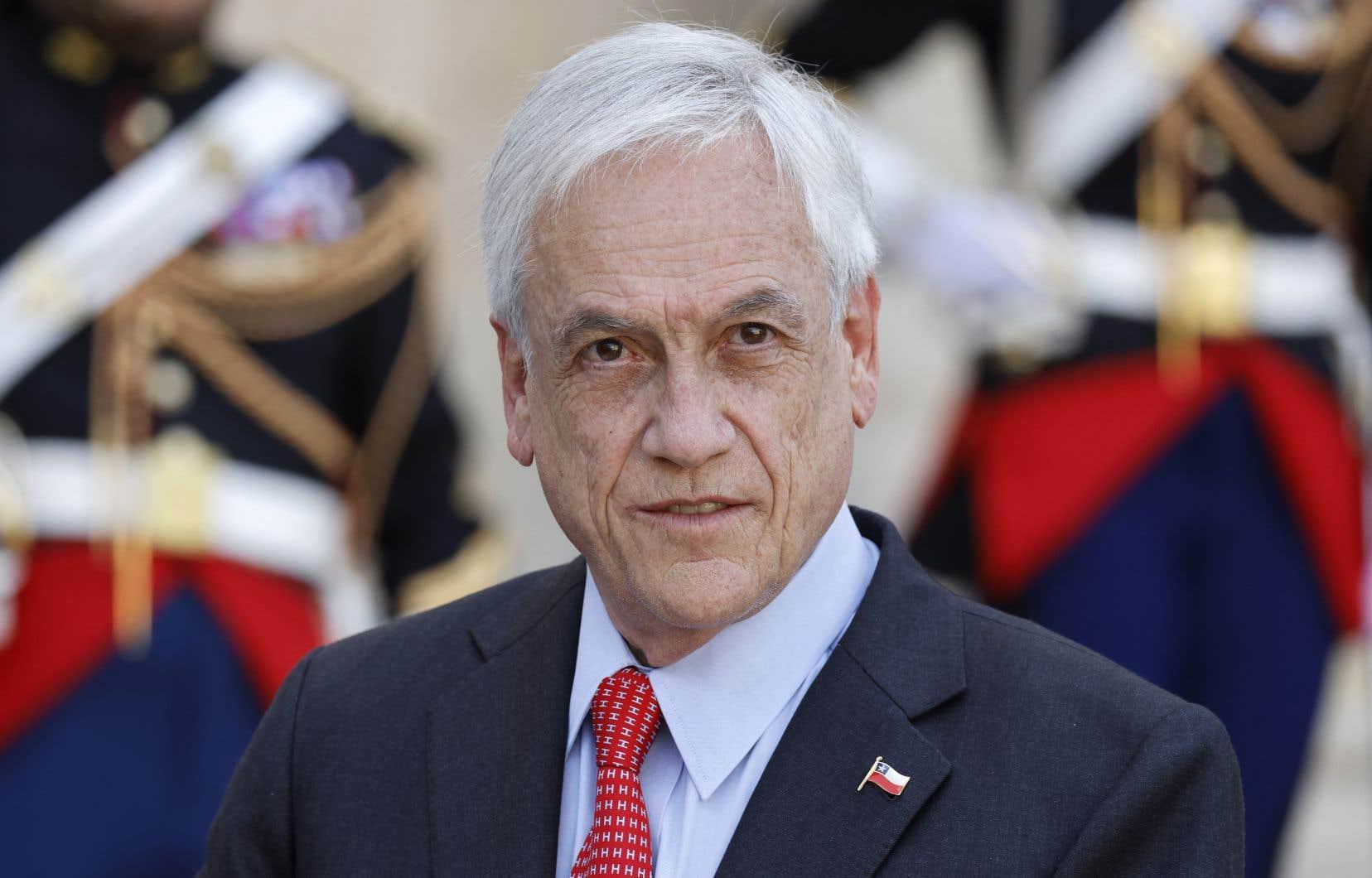 Sebastian Piñera est au centre de la polémique au Chili après des révélations d'une vaste enquête mondiale du Consortium international des journalistes d'investigation.