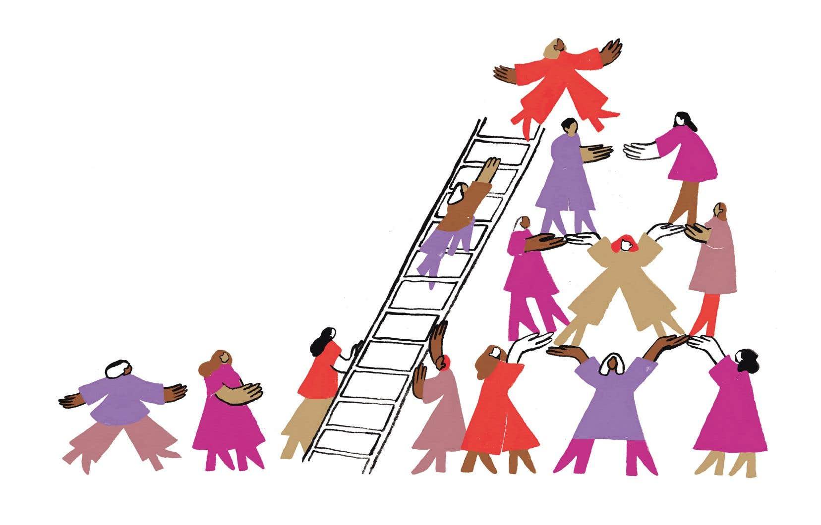 Certaines entreprises travaillent fort pour projeter une image accueillante envers les femmes. Et cette approche féministe serait payante. Dernier texte de notre série.