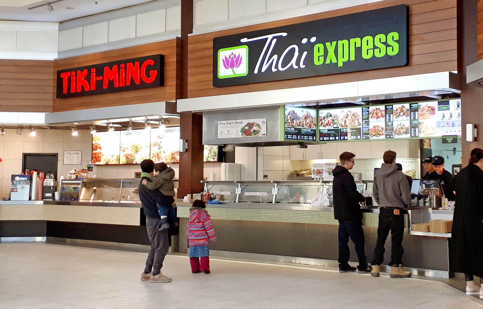 Le franchiseur montréalais, propriétaire de 80 marques, dont Sushi Shop, Thaï Express, Tiki-Ming et Valentine, augmente ses prix à un rythme «bas ou très bas» dans la fourchette entre 0 et 10%.