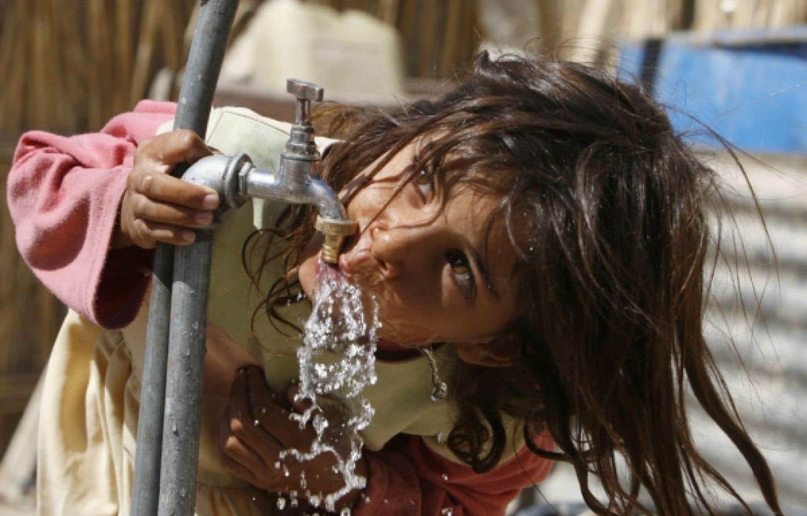 L'ONU cite l'approvisionnement en eau potable comme un des principaux défis que le monde, de plus en plus peuplé, devra relever.<br />