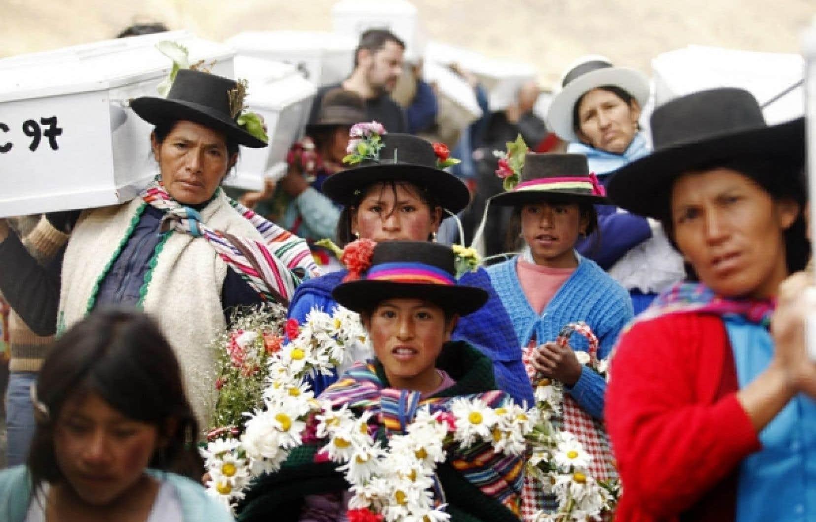 Les femmes font souvent partie des groupes les plus marginalisés, comme au Pérou, où Inter Pares agit avec des ONG nationales.<br />