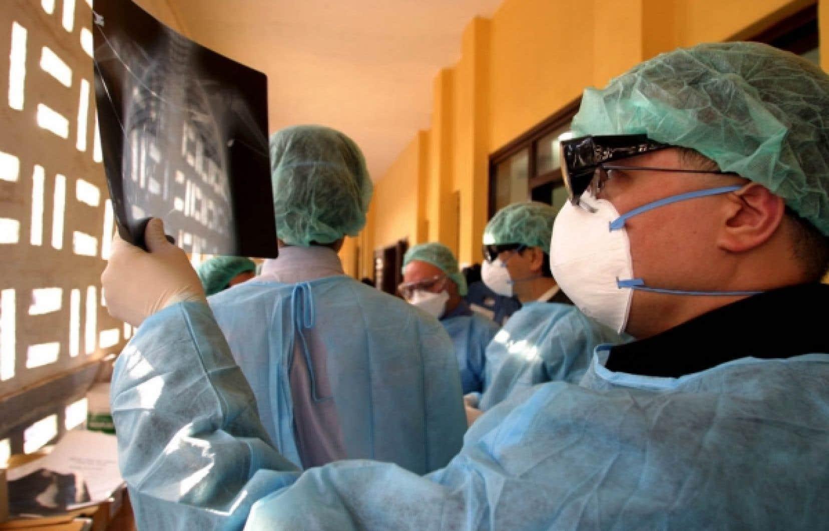 Il est particulièrement important pour les chercheurs d'établir des rapports avec les gens du secteur de la santé.
