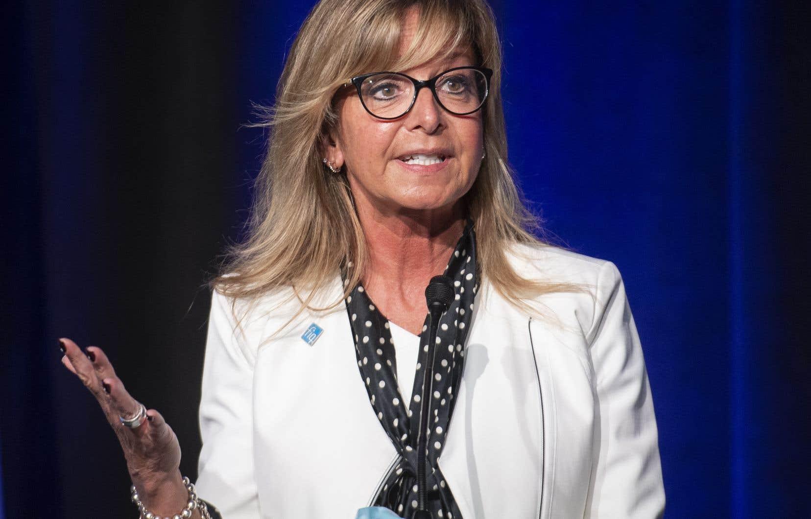 Nancy Bédard avait récemment laissé entendre qu'elle réfléchirait à son avenir dans l'organisation.