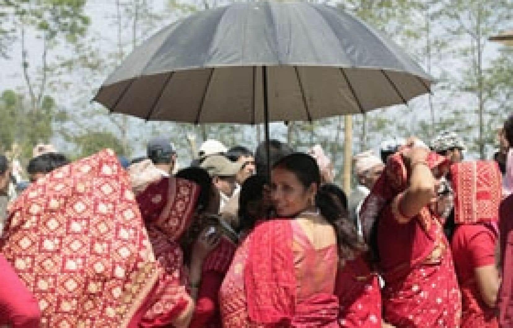 L'attente était longue hier à Jitpur Phedi, près de Katmandou.