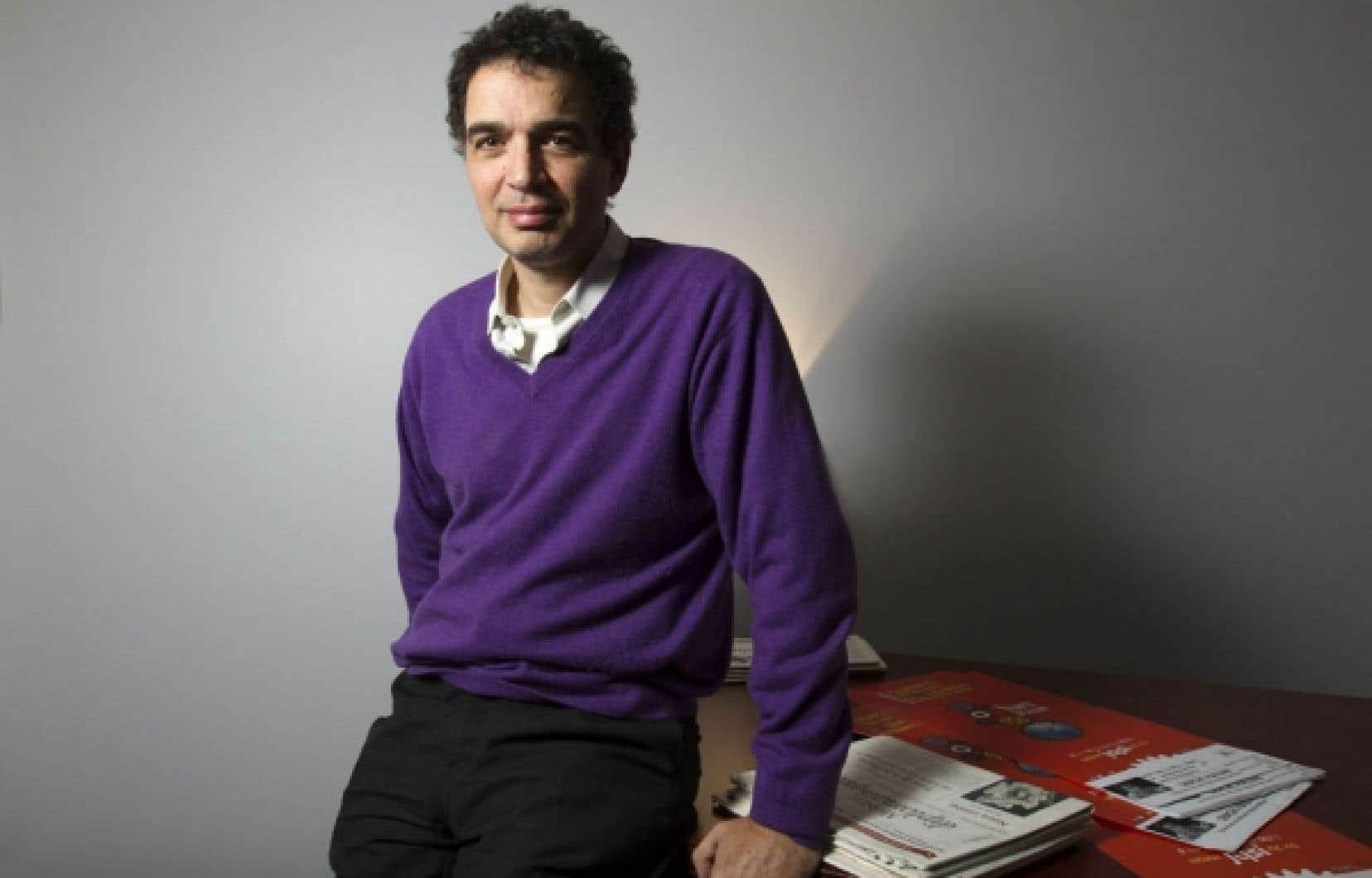 Serge Halimi est l'invité des Journées québécoises de la solidarité internationale.<br />