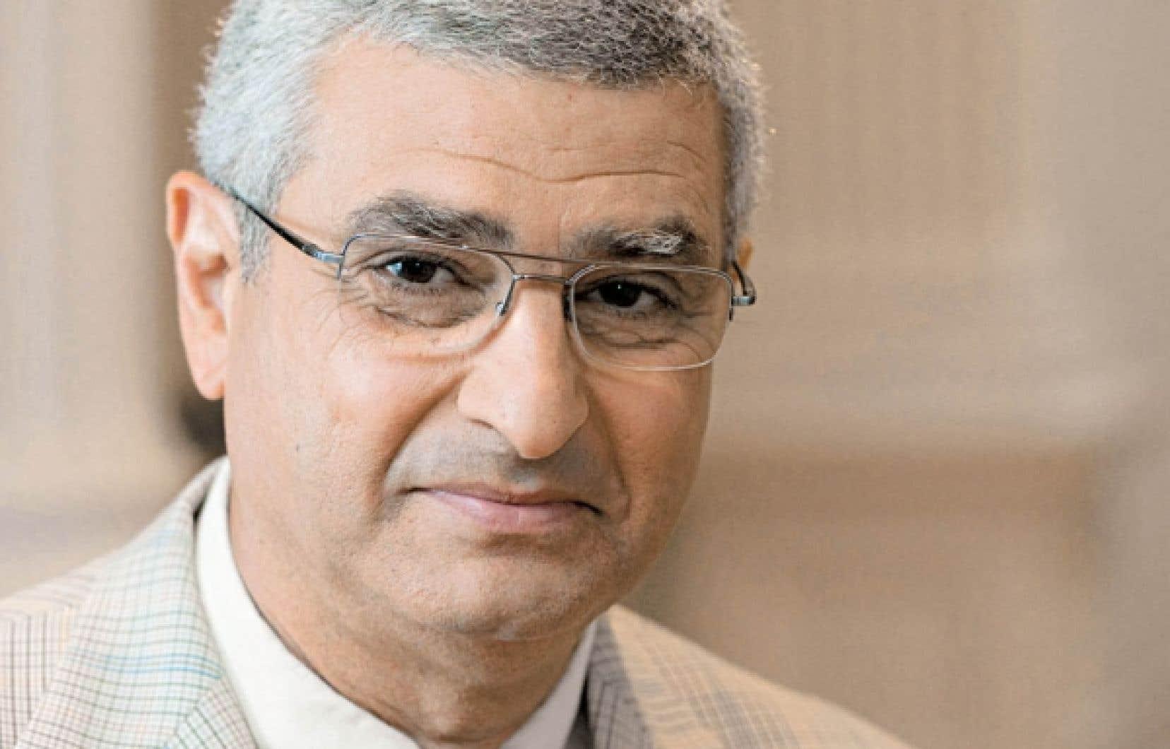 Nabil Seidah, directeur du Laboratoire de biochimie neuroendocrinienne de l&rsquo;Institut de recherches cliniques de Montr&eacute;al<br />