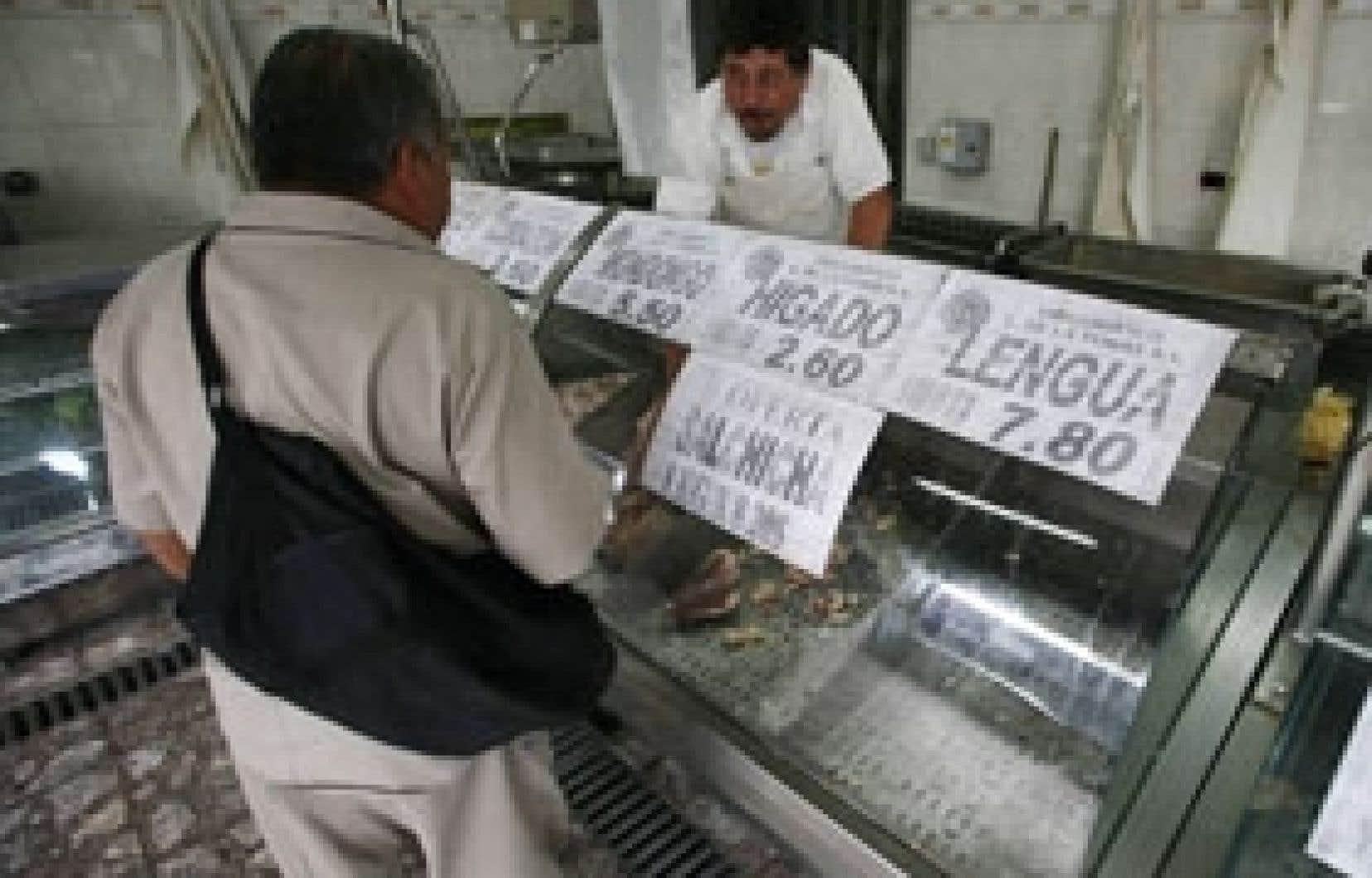 La viande est maintenant rare dans les boucheries de Buenos Aires.