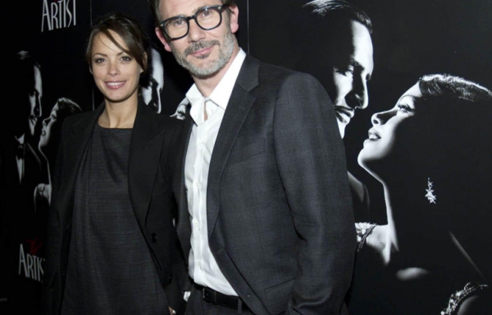 Le cinéaste français Michel Hazanavicius et Bérénice Bejo, la star féminine de son film, foulaient hier le tapis rouge d'Ex-Centris.
