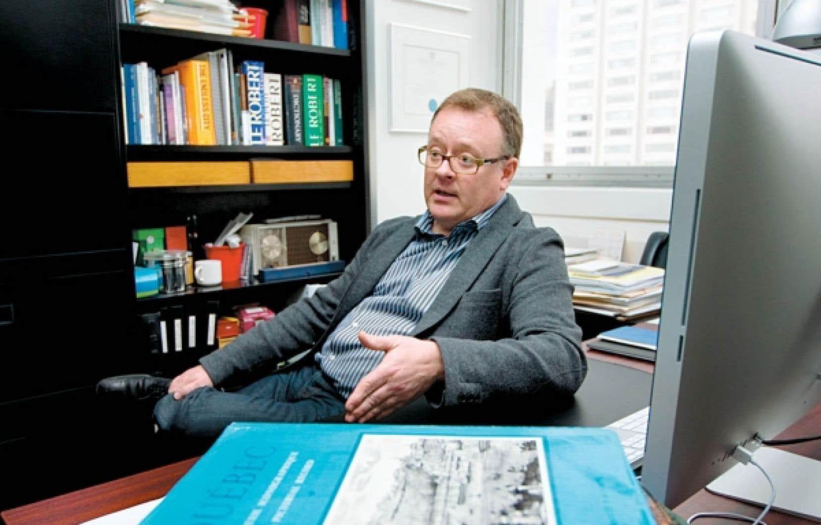 Pierre Gauthier: «L'automobile ne disparaîtra pas, mais il faut absolument rationaliser son utilisation.»<br />