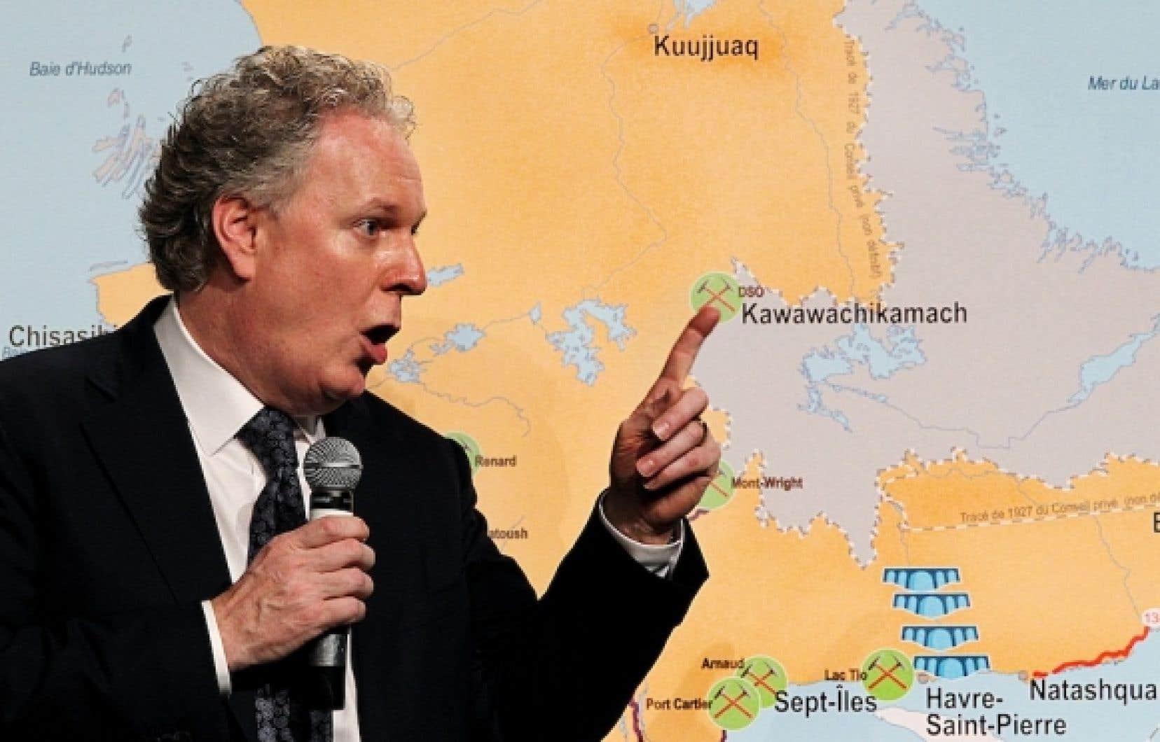 Le plan nord aidera revendiquer le futur passage du nord for Chambre de commerce de montreal nord
