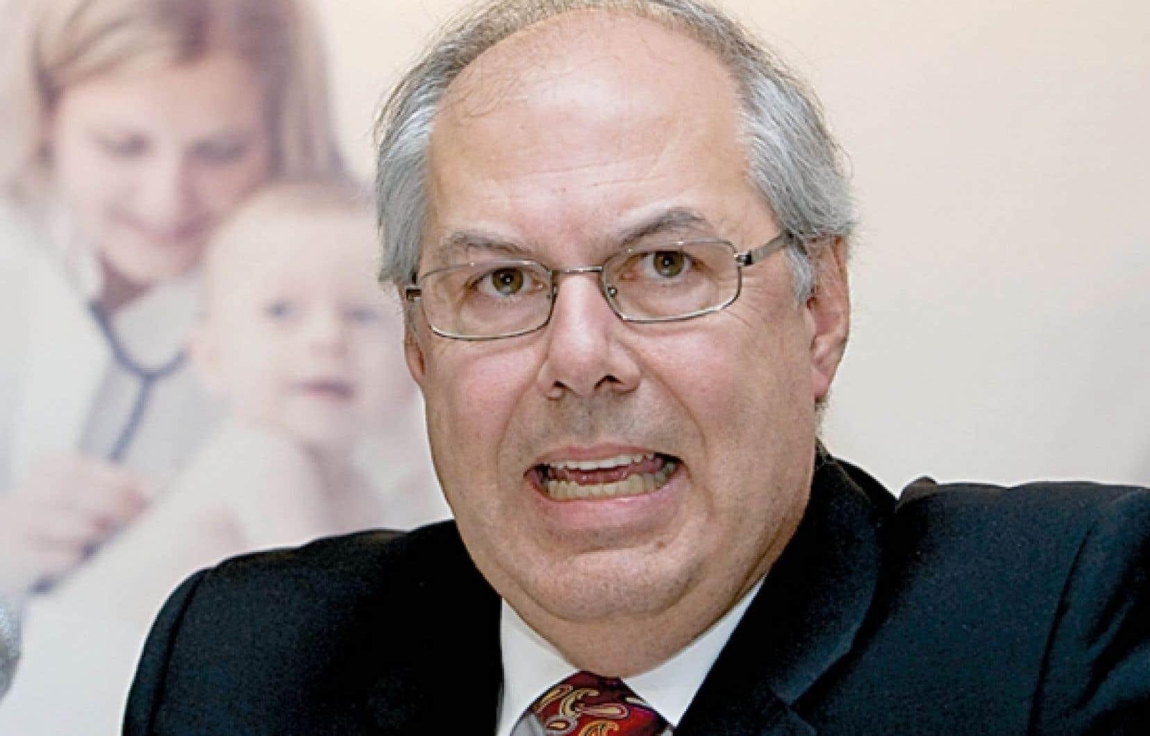 Le Dr Louis Godin<br />