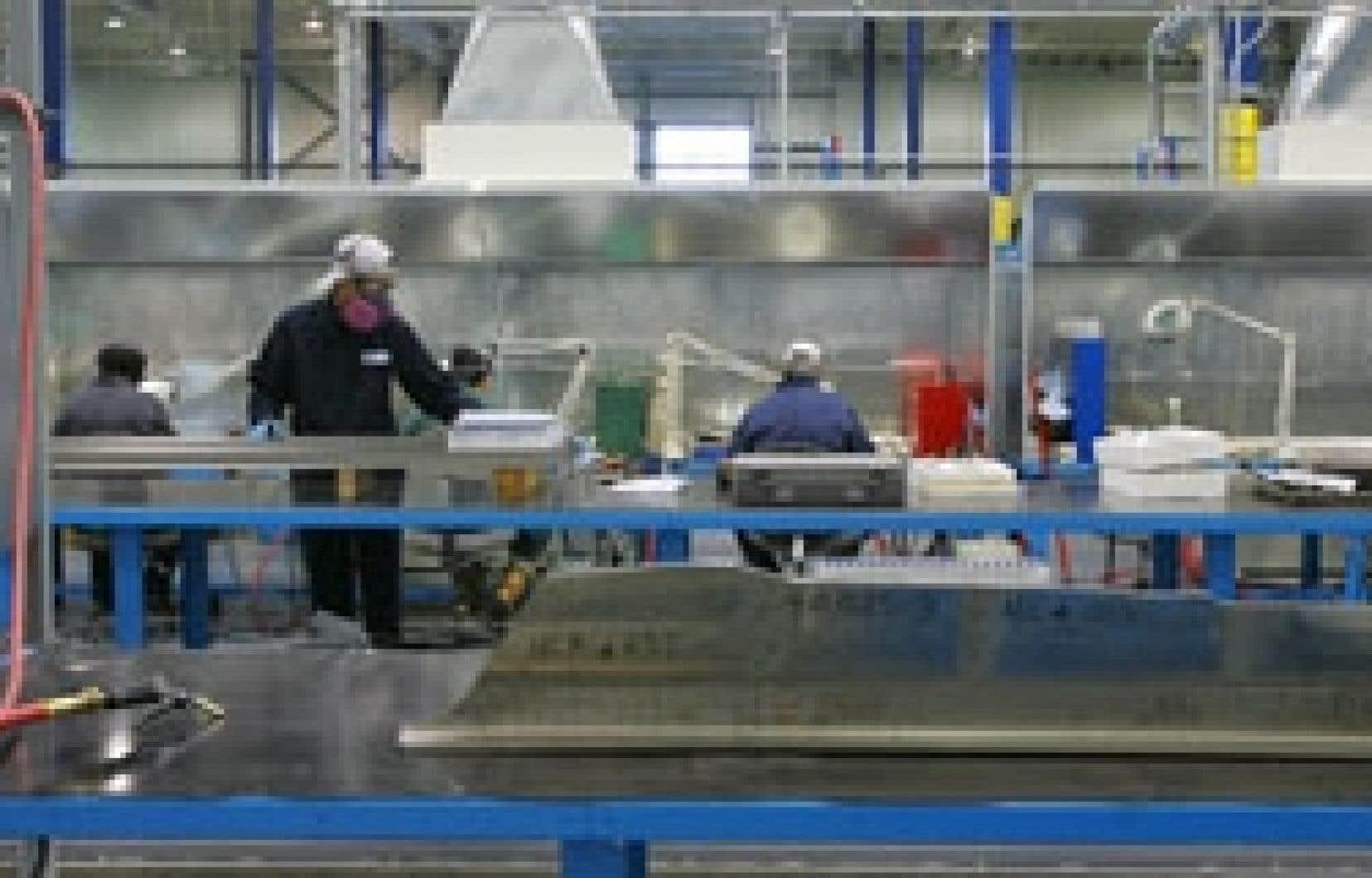 Au Québec, l'un des secteurs qui investissent présentement le moins en formation est aussi celui qui en aurait le plus besoin, c'est-à-dire le secteur manufacturier.