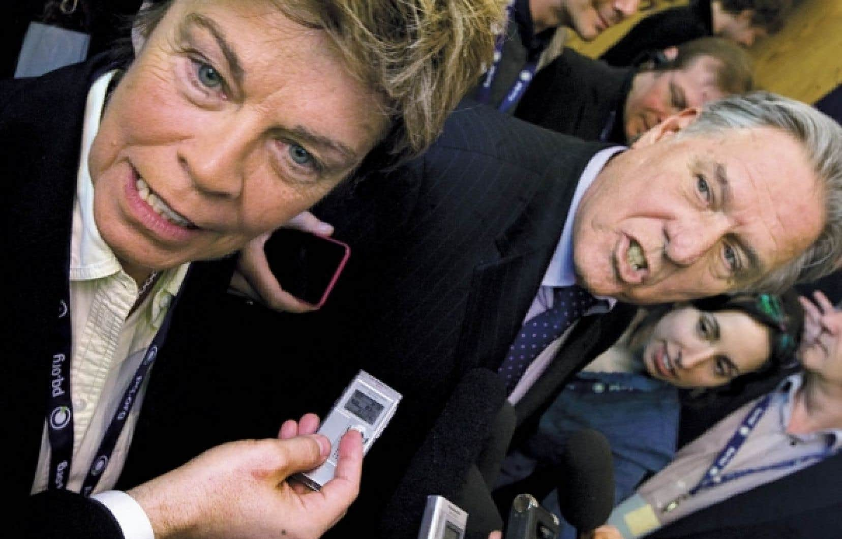 Louise Beaudoin et Pierre Curzi: «Faire de la politique autrement.»