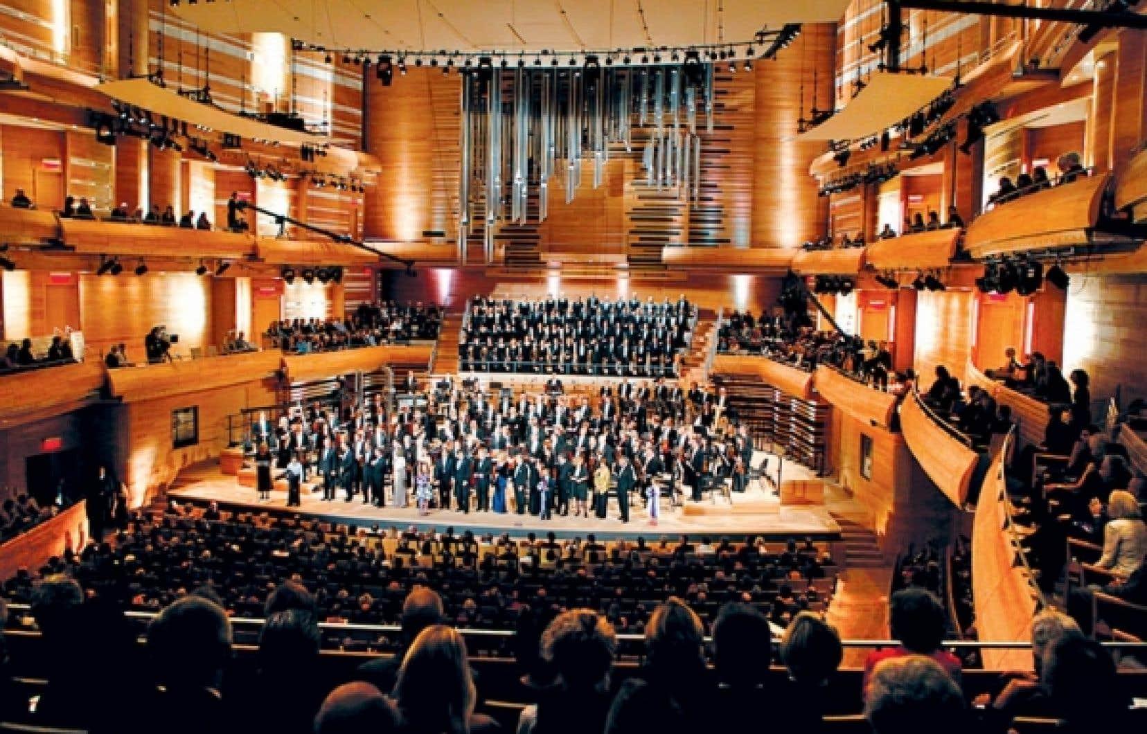 À quand des sièges pour tweeter dans la nouvelle salle de l'Orchestre symphonique de Montréal?<br />