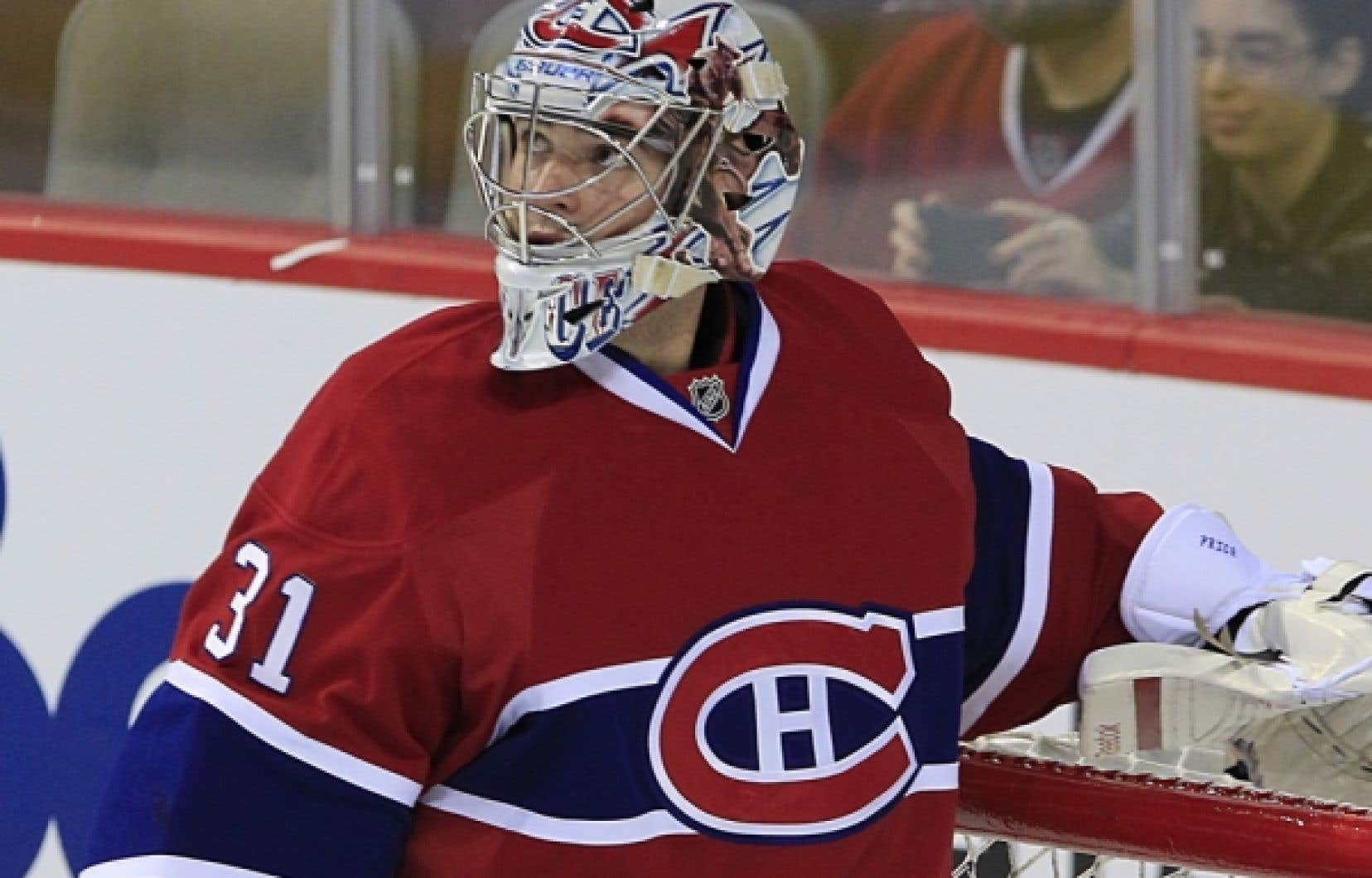 Même si le hockey perd de la glace il conserve une place domimante, et <br /> 14 des 25 personnalités les plus médiatisées au Québec proviennent du hockey. (sur la photo: Carey Price)
