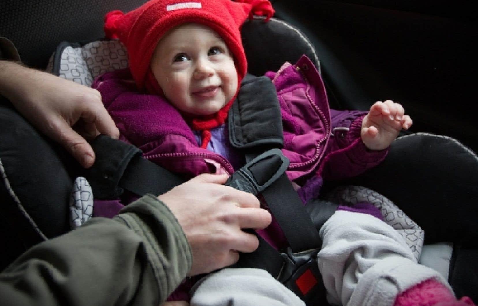 La r&eacute;glementation canadienne sur les si&egrave;ges d&rsquo;auto pour enfants se classe parmi les plus s&eacute;v&egrave;res au monde. Un nouveau r&egrave;glement entre en vigueur le 1er janvier.<br />