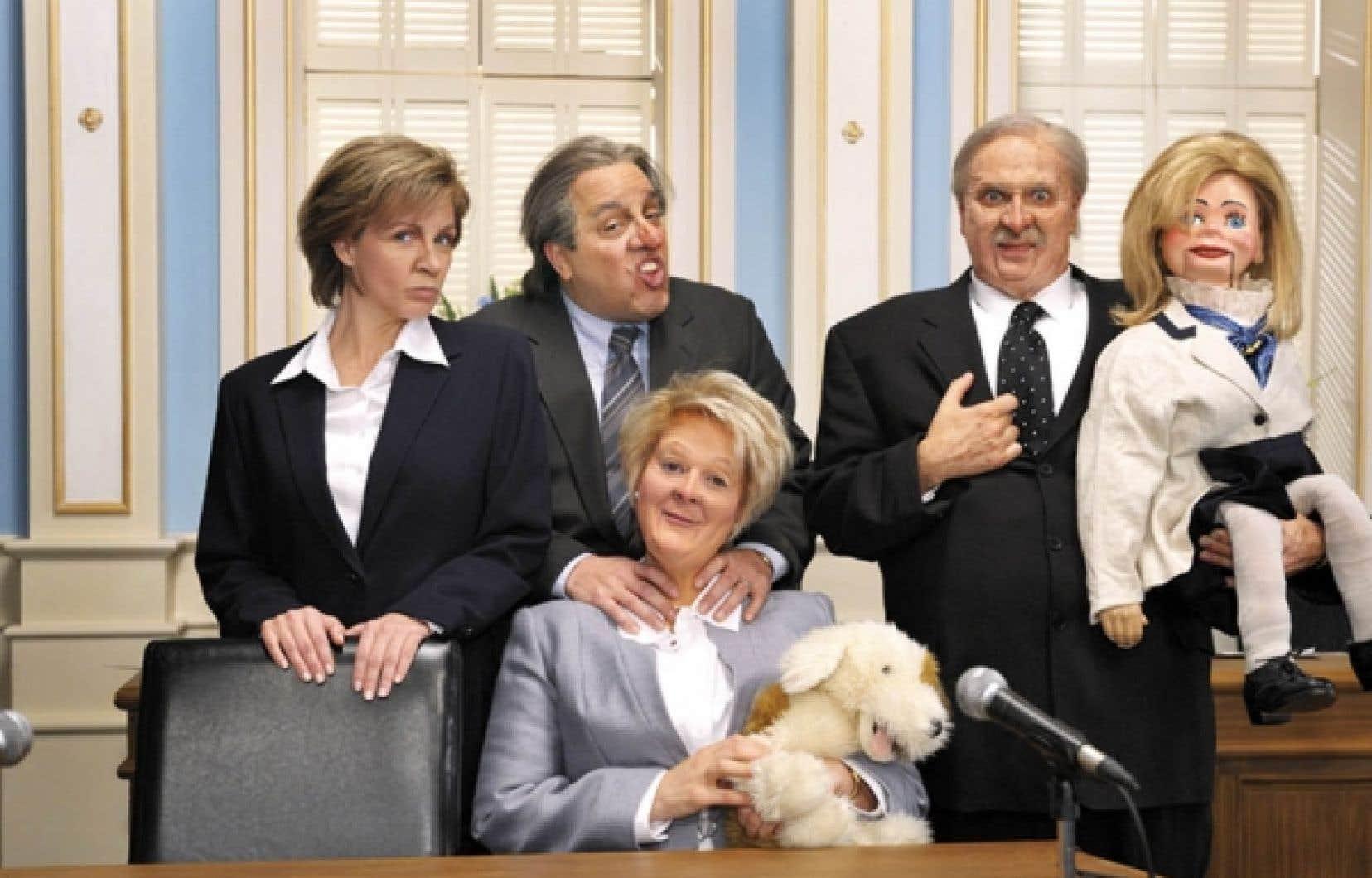 L'actualité politique occupait une grande place dans le Bye Bye 2011.