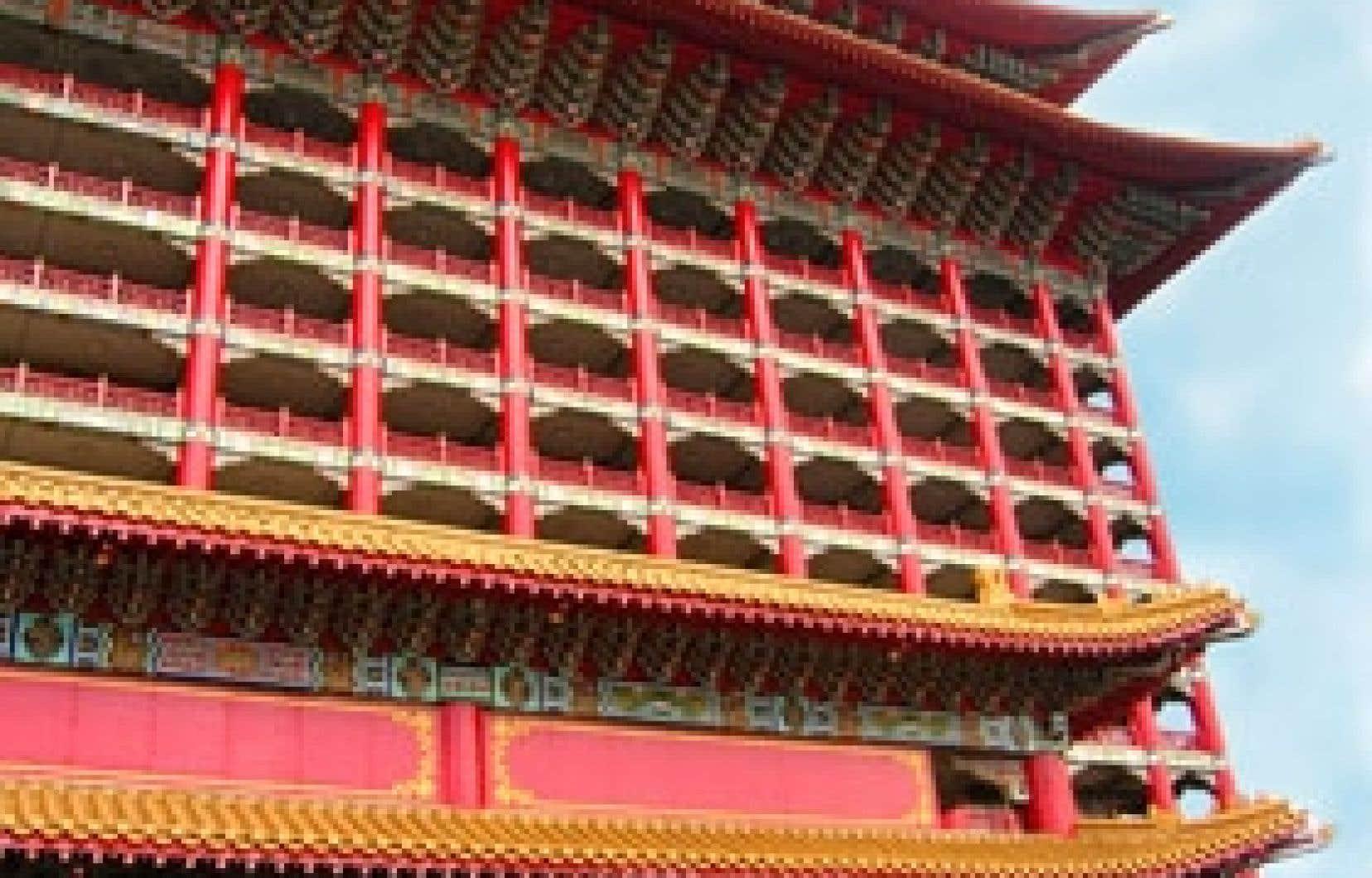 Le Grand Hôtel de Taipei est le plus grand édifice d'architecture chinoise traditionnelle au monde.