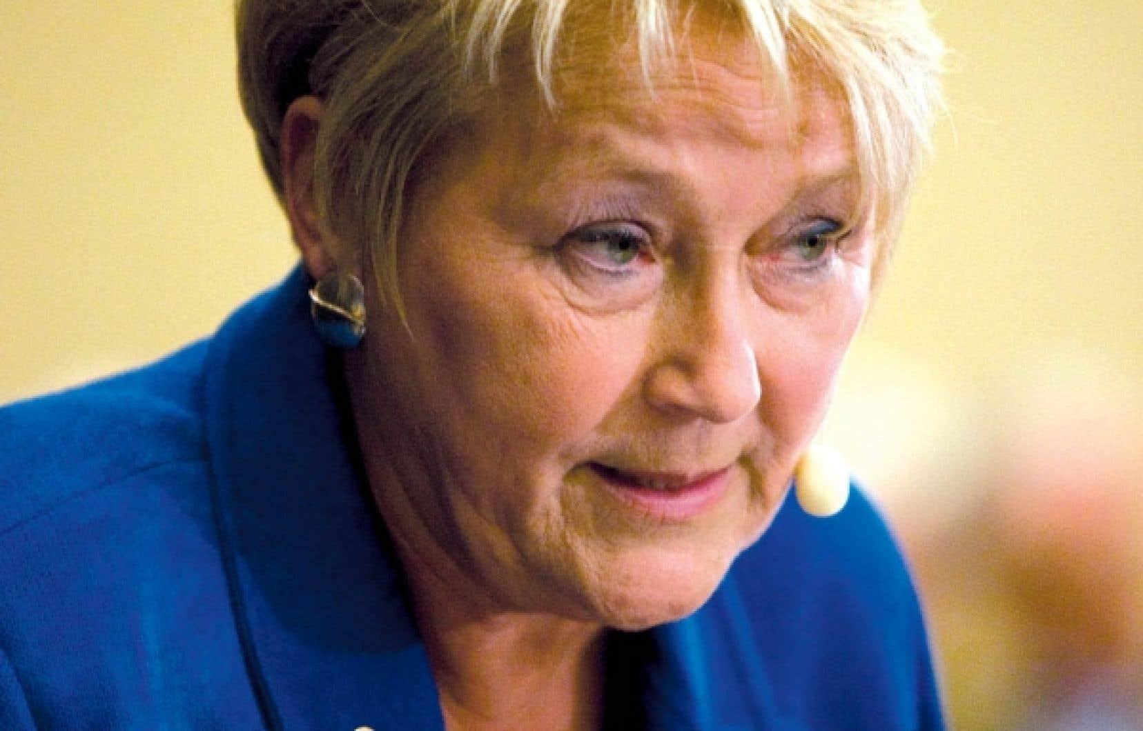 «Ça ne m'étonnerait pas qu'elle [Pauline Marois] vienne annoncer son départ au caucus» des 25 et 26 janvier, dit un député. «C'est vraiment un scénario probable», dit un autre.<br />