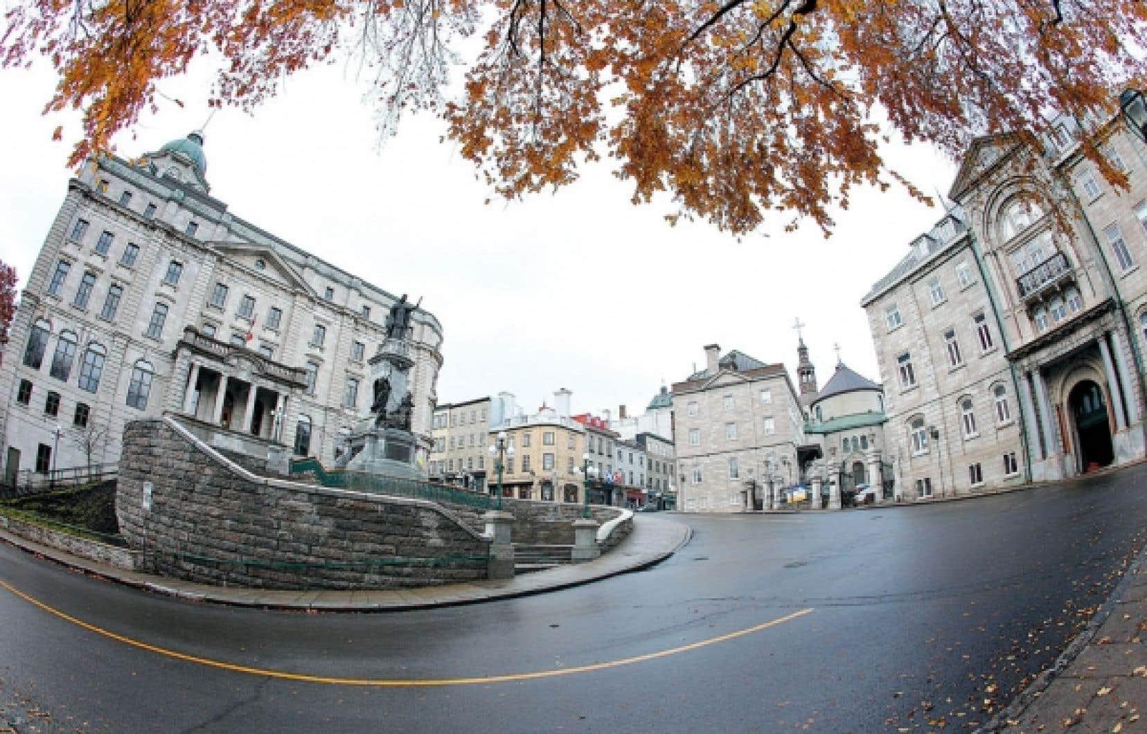 L'arrondissement historique du Vieux-Québec est un périmètre inscrit sur la liste du patrimoine de l'humanité de l'UNESCO.