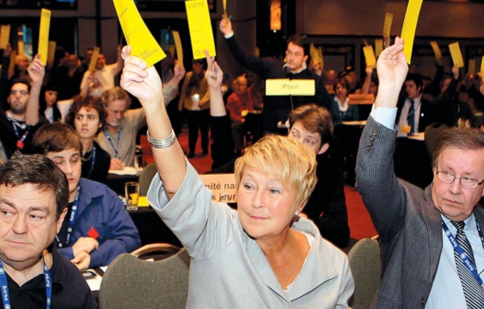 Les militants du Parti québécois ont adopté cette fin de semaine une proposition visant à permettre la tenue de référendums d'initiative populaire (RIP). <br />