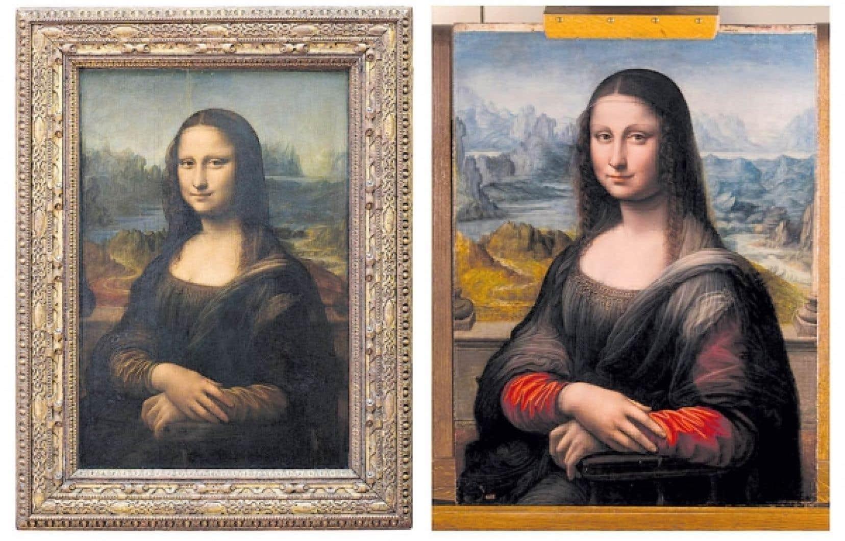 La Joconde n'est plus seule. Elle a désormais une sœur jumelle, et celle-ci est madrilène. Le musée du Prado a annoncé hier que ce qu'il pensait être une réplique tardive du tableau de Léonard de Vinci, anonyme et approximativement datée du premier quart du XVIe siècle, provient en réalité de l'atelier même du maître. Et elle aurait été réalisée en même temps que l'œuvre du Louvre. <br />