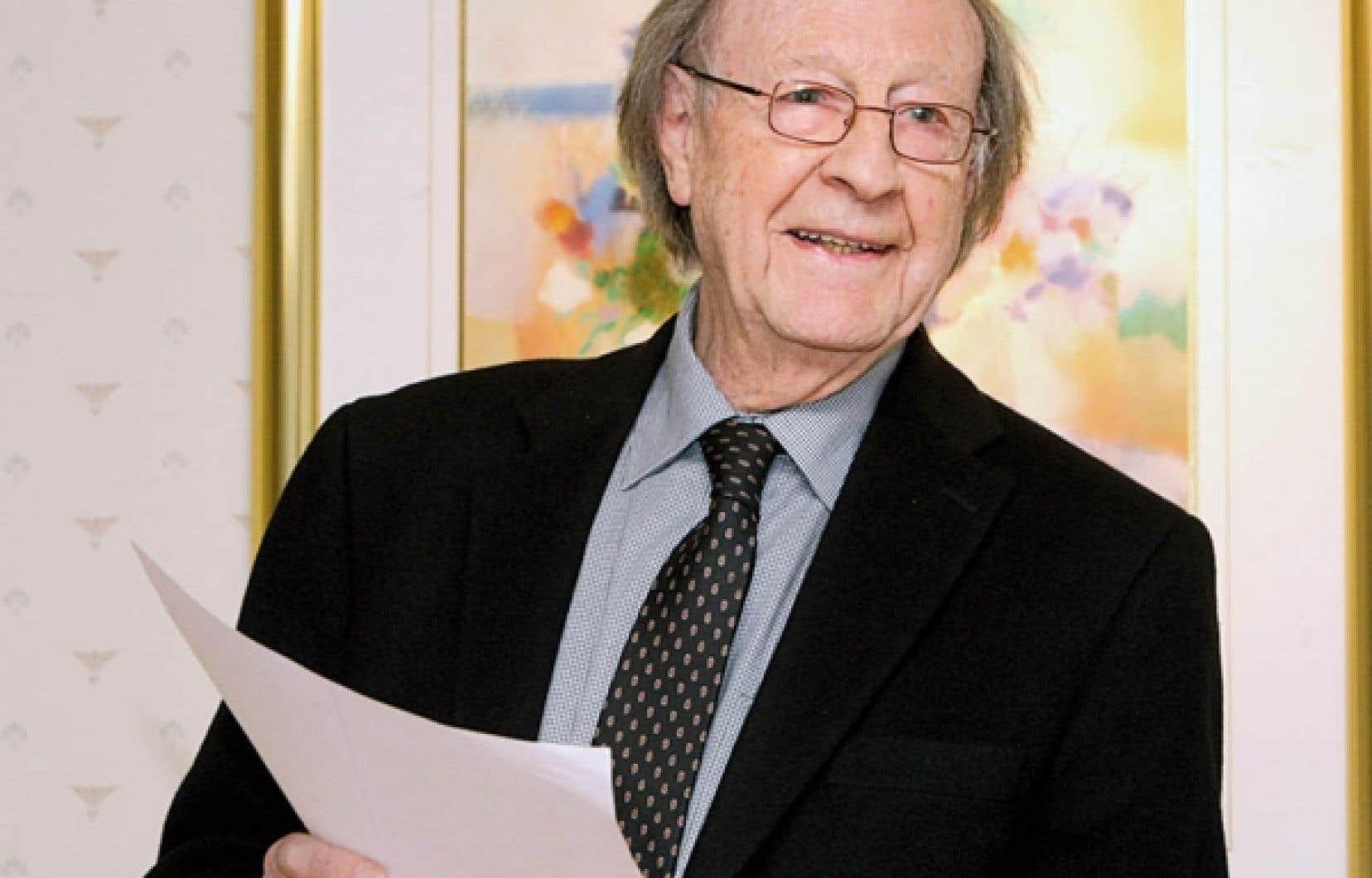 Le sociologue Guy Rocher<br />