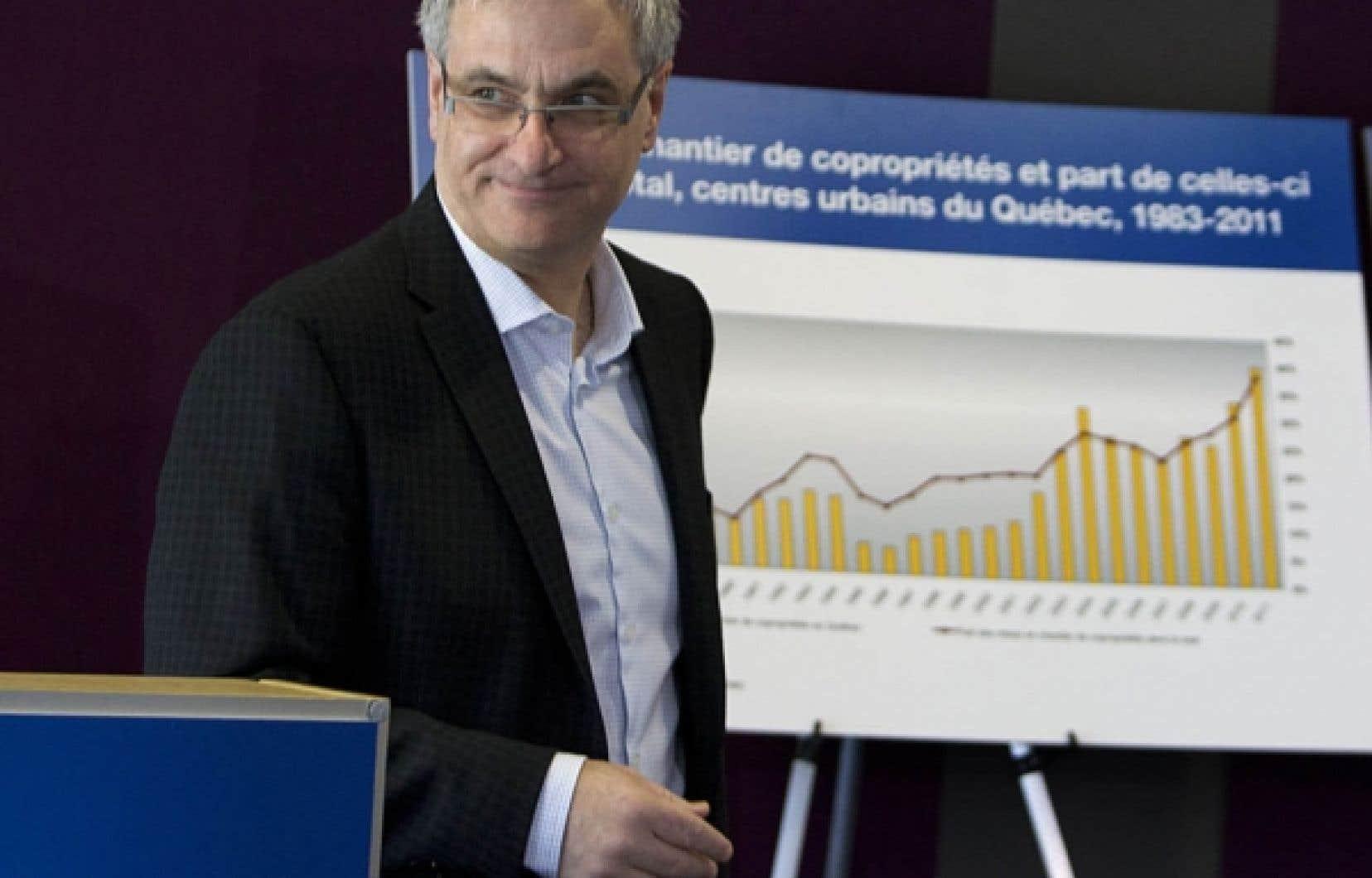 Le ministre de la Justice, Jean-Marc Fournier<br />