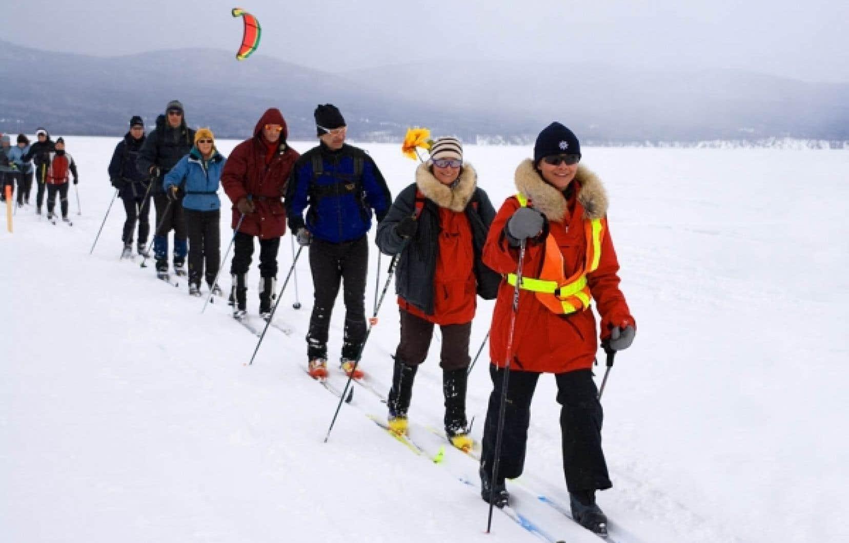 La Traversée de la Gaspésie a pris son envol dimanche avec plus de 200 participants.<br />