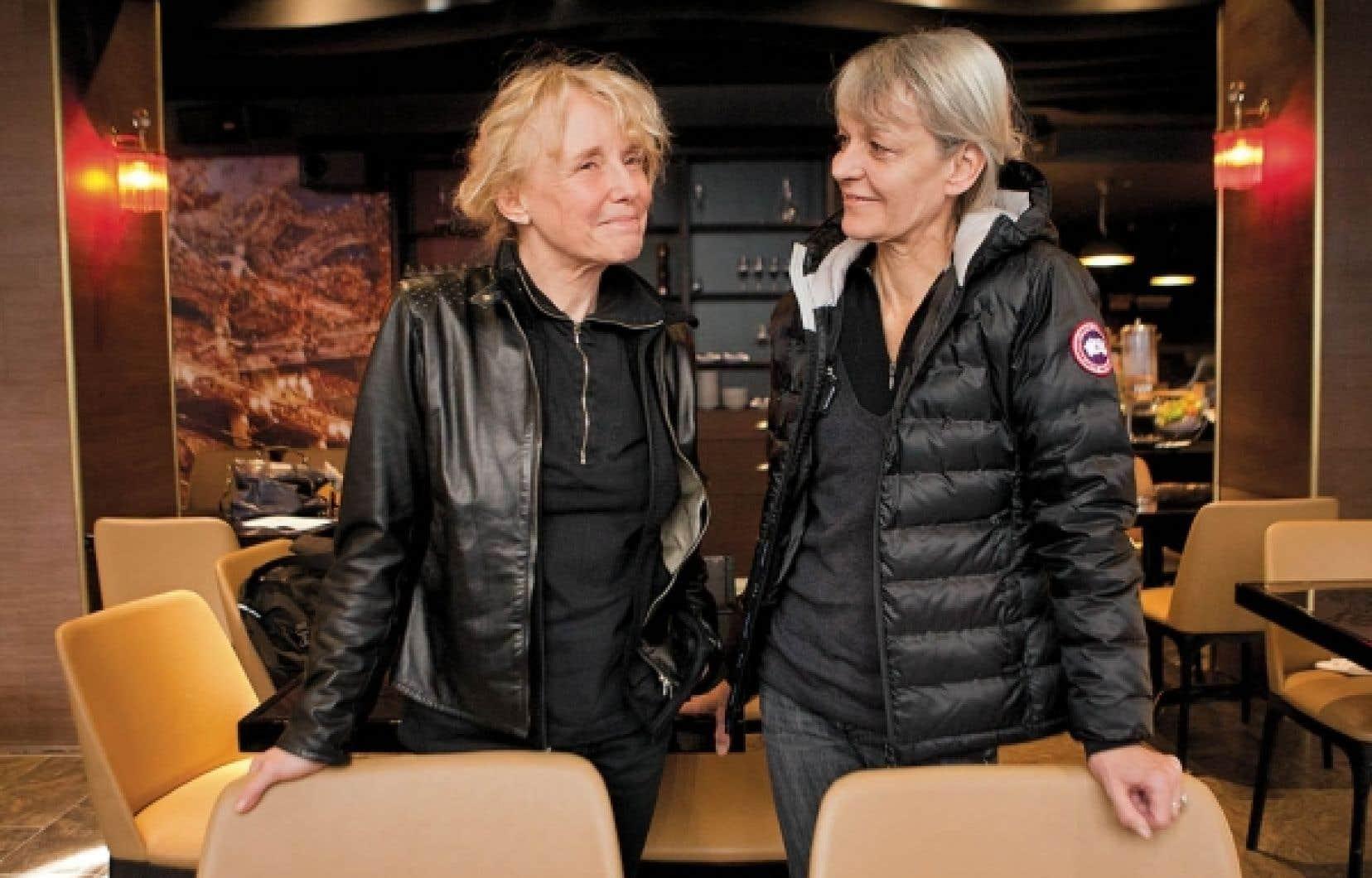Les affinités ont réuni Claire Denis et Agnès Godard, de passage à Montréal. D'ailleurs, elles se ressemblent un peu.