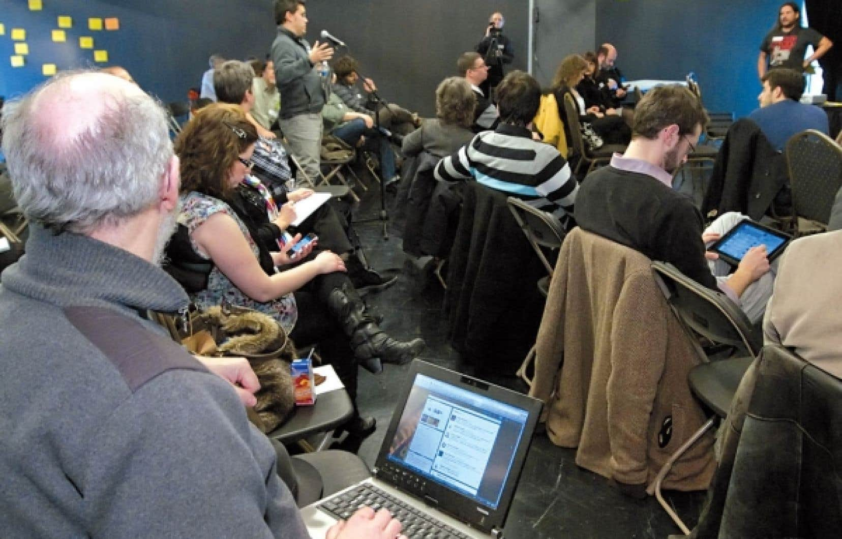 Le GouvCamp Québec s'intéresse aux technologies et aux divers paliers de la fonction publique.<br />