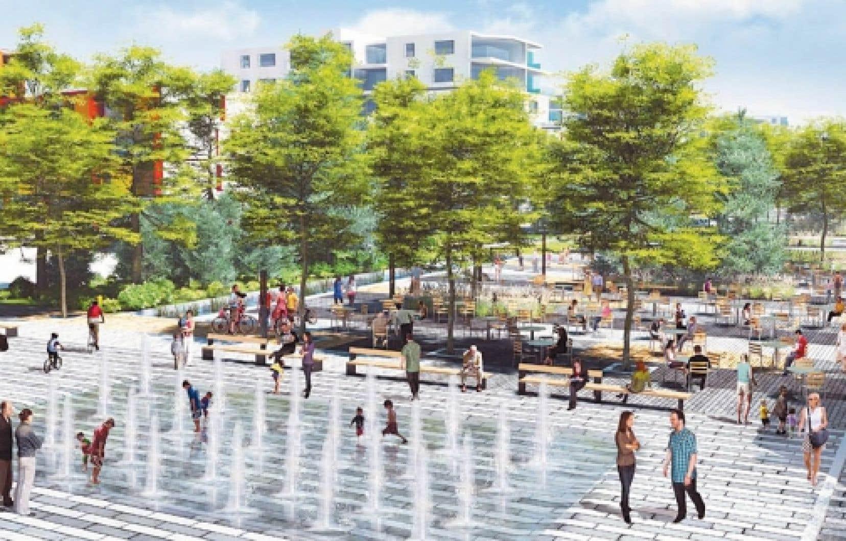 Le projet d'écoquartier d'Estimauville, à Québec<br />